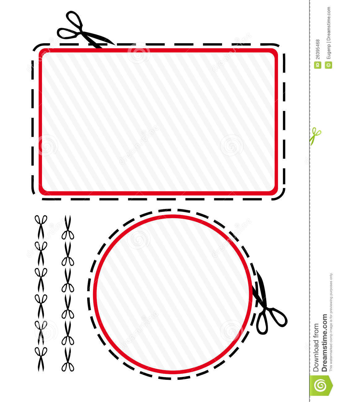 Free coupon cut outs