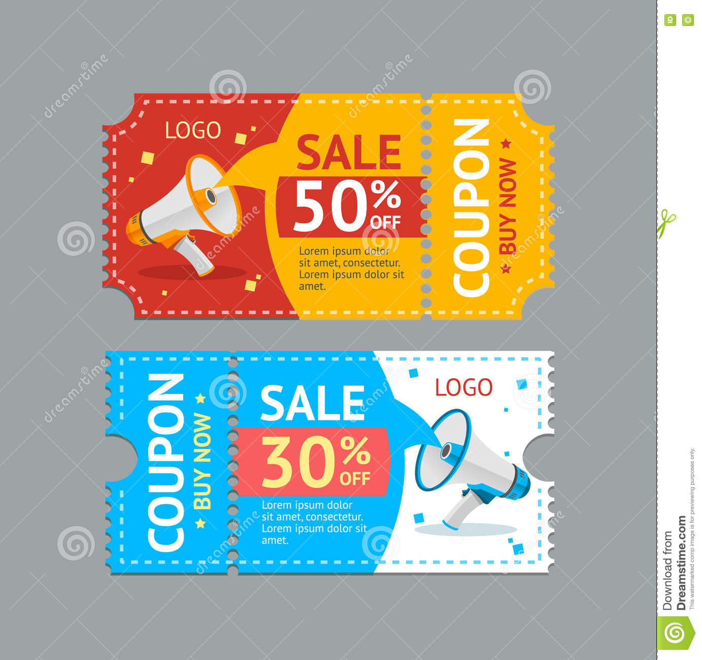 Coupon background