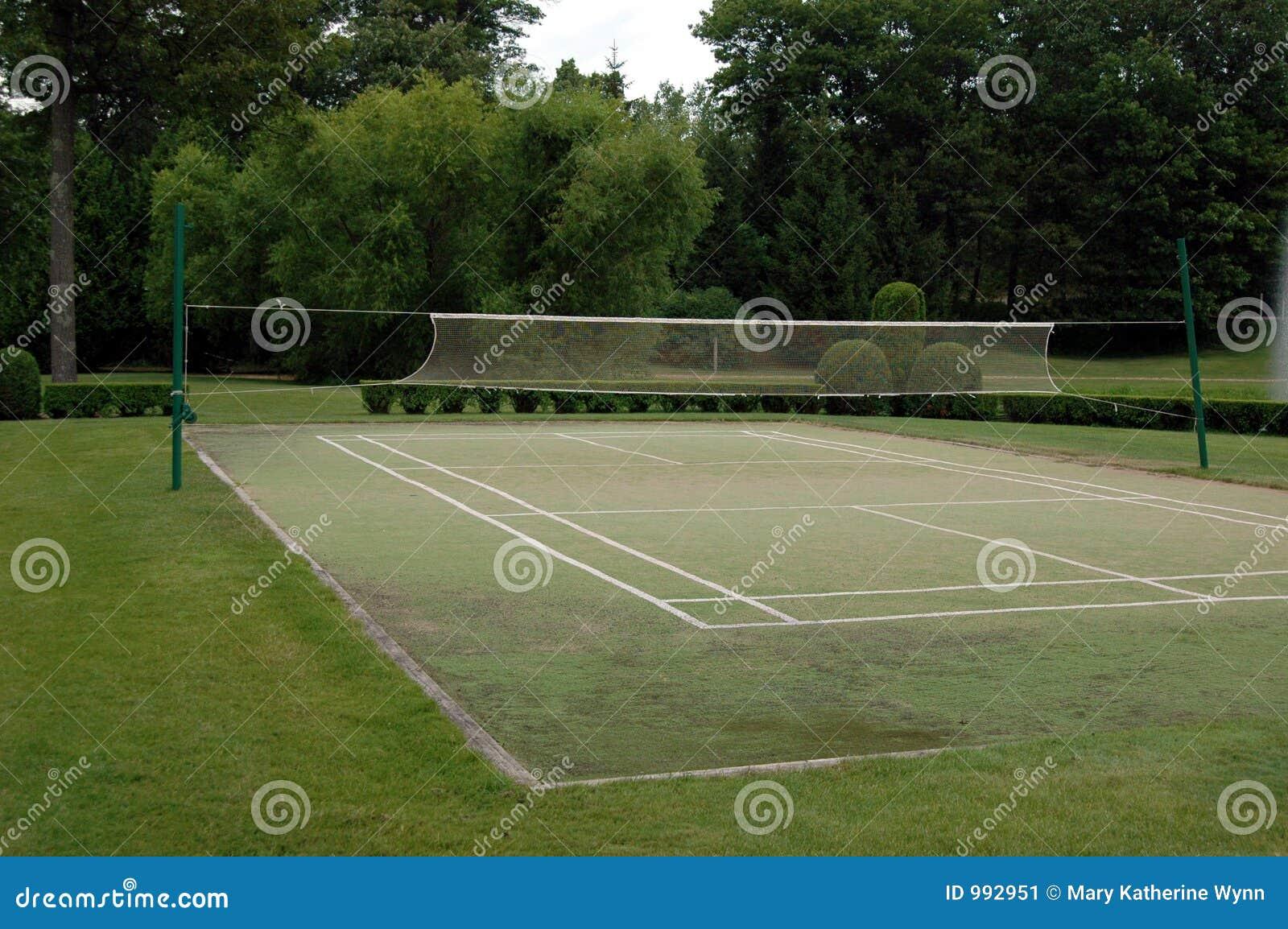 Cour de badminton