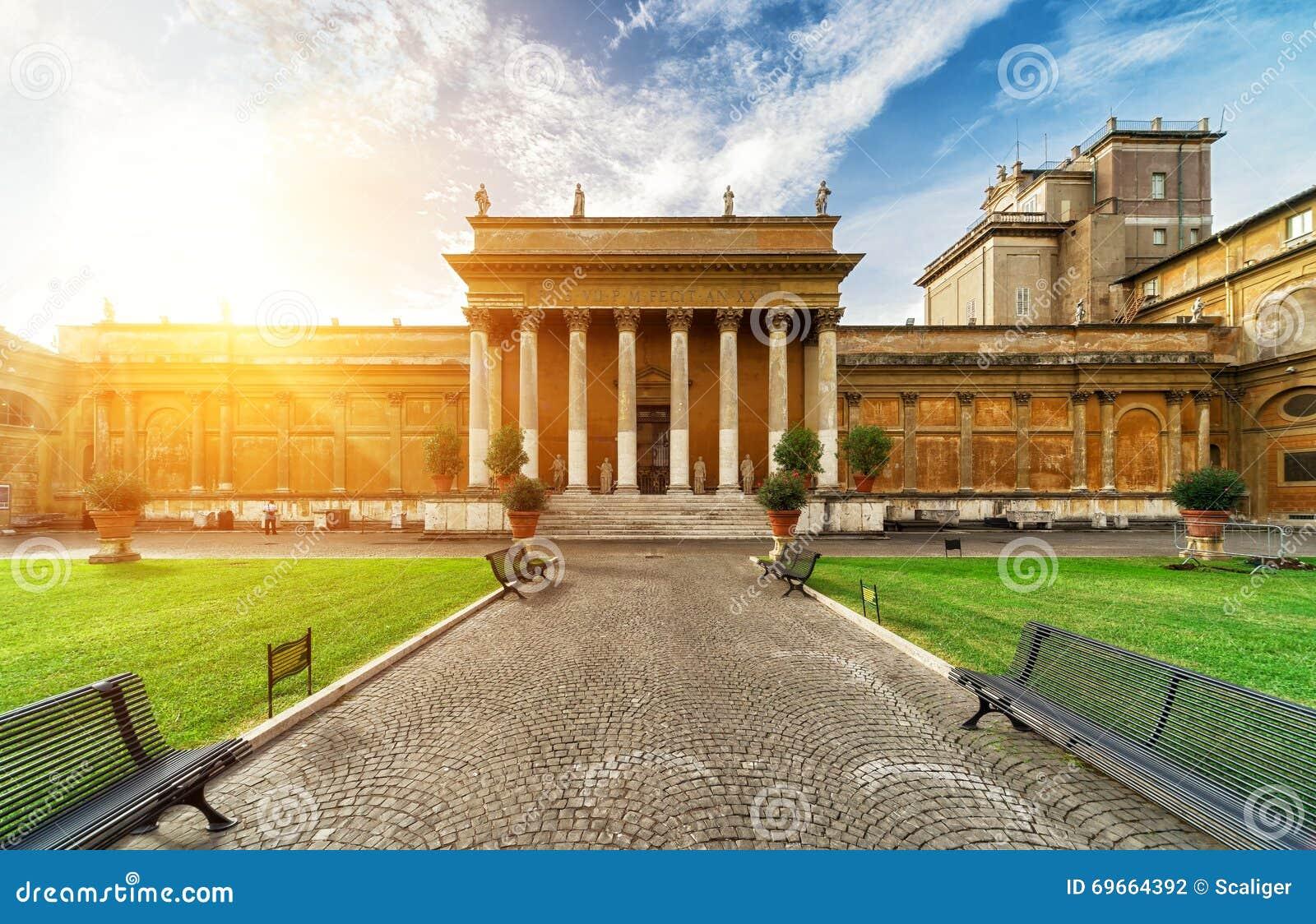 Cour de belvédère à Vatican