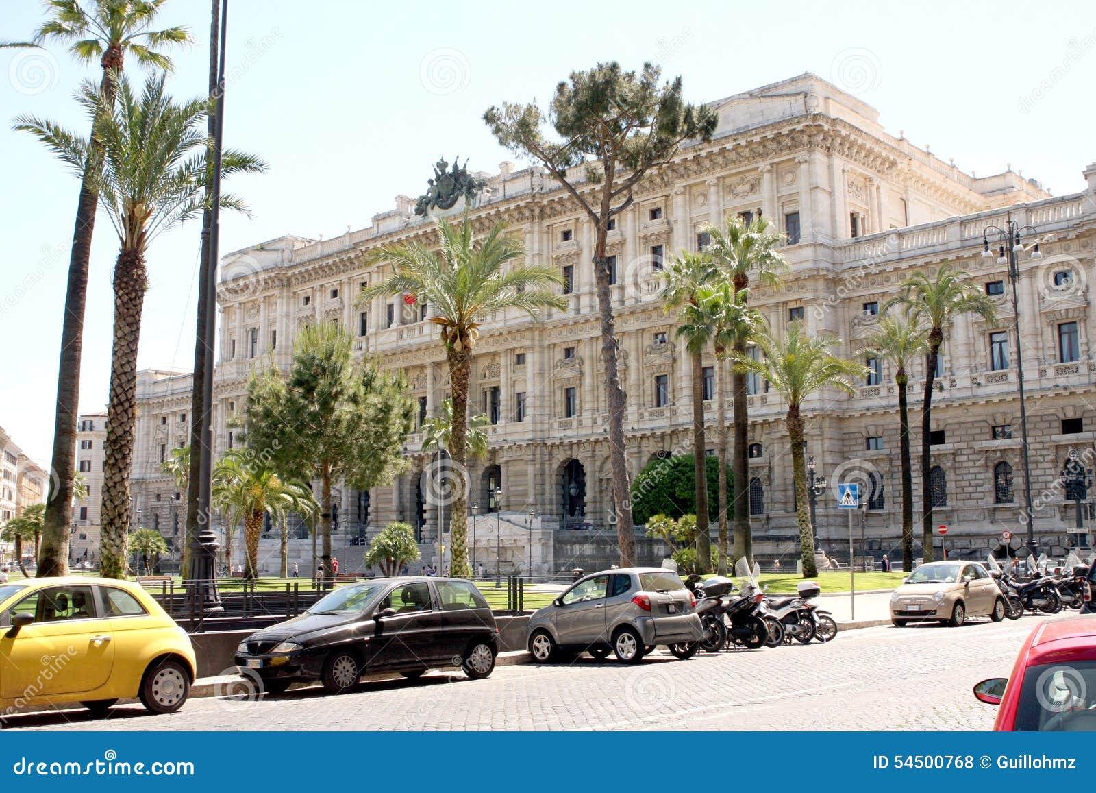 Cour de Justice suprême Rome Italy