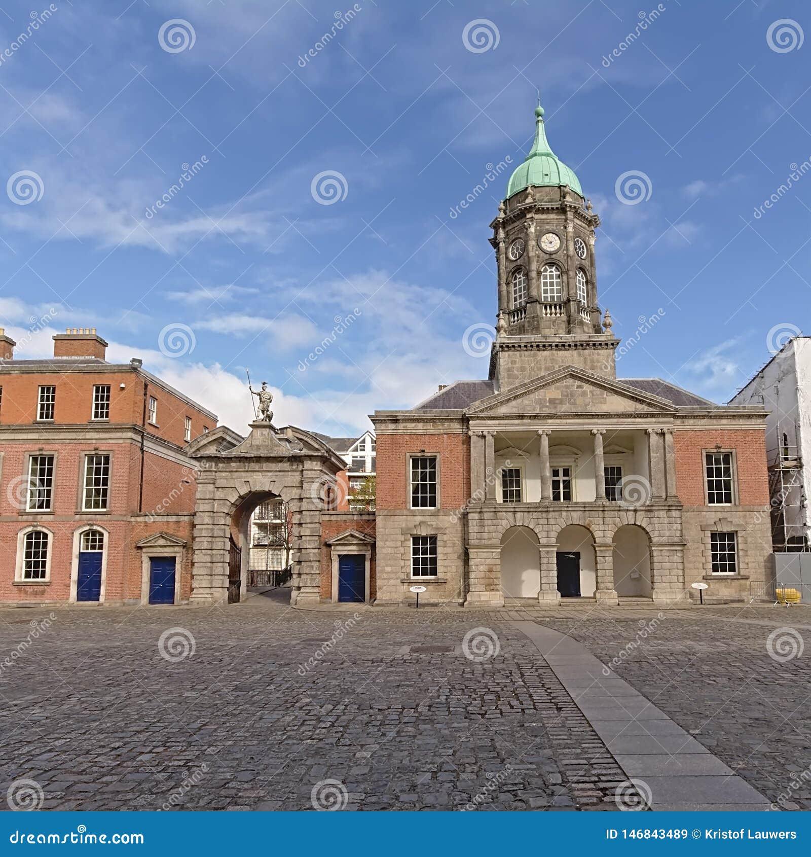 Cour int?rieure de Dublin Castle, Irlande