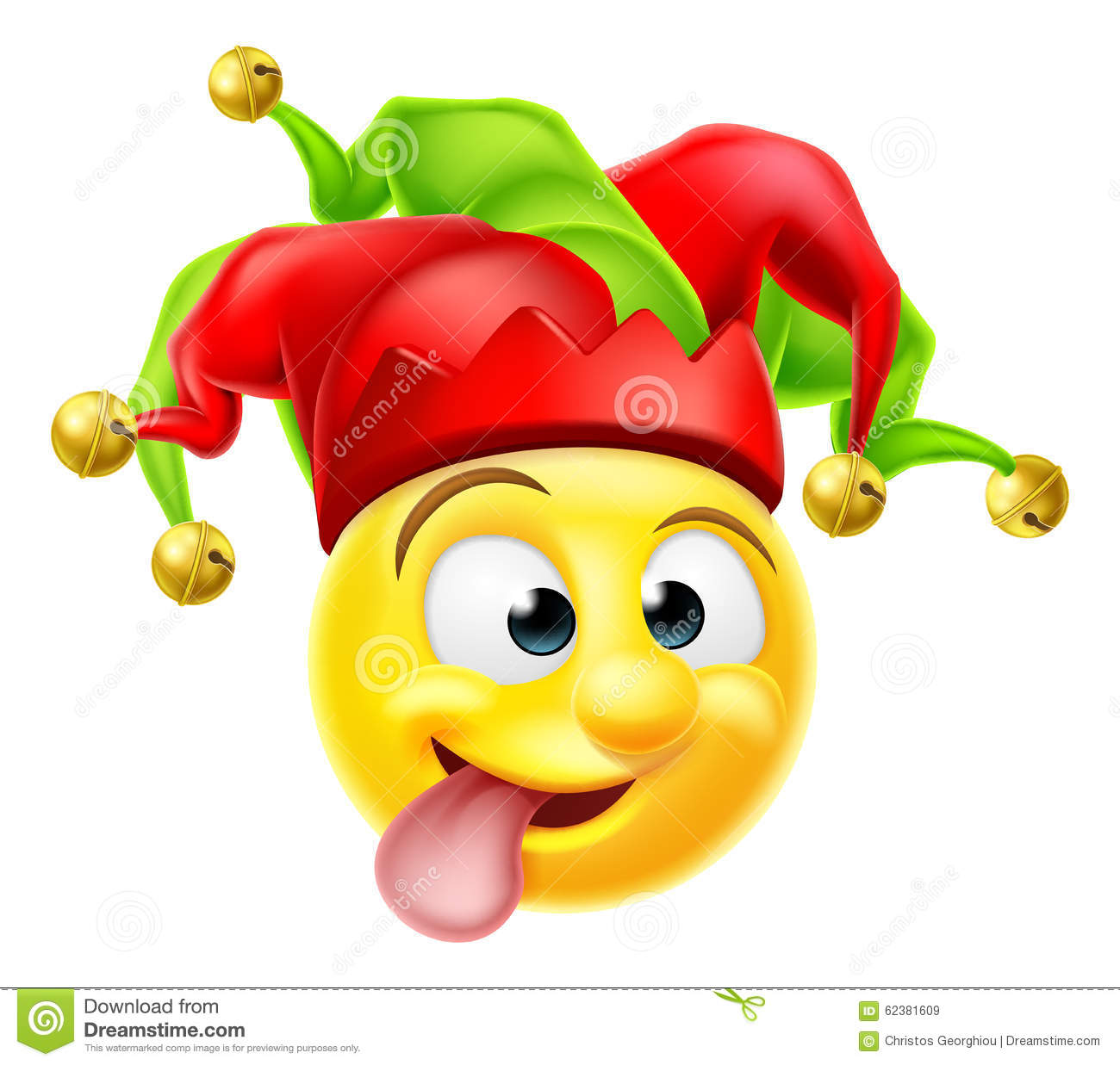 Cour Jester Emoji Emoticon Illustration De Vecteur Image