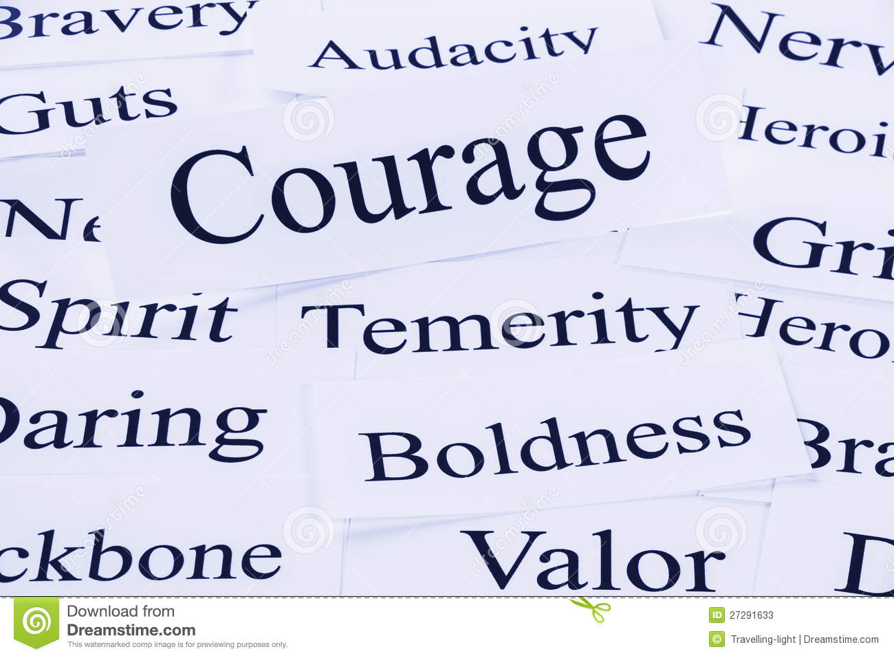Courage Clipart