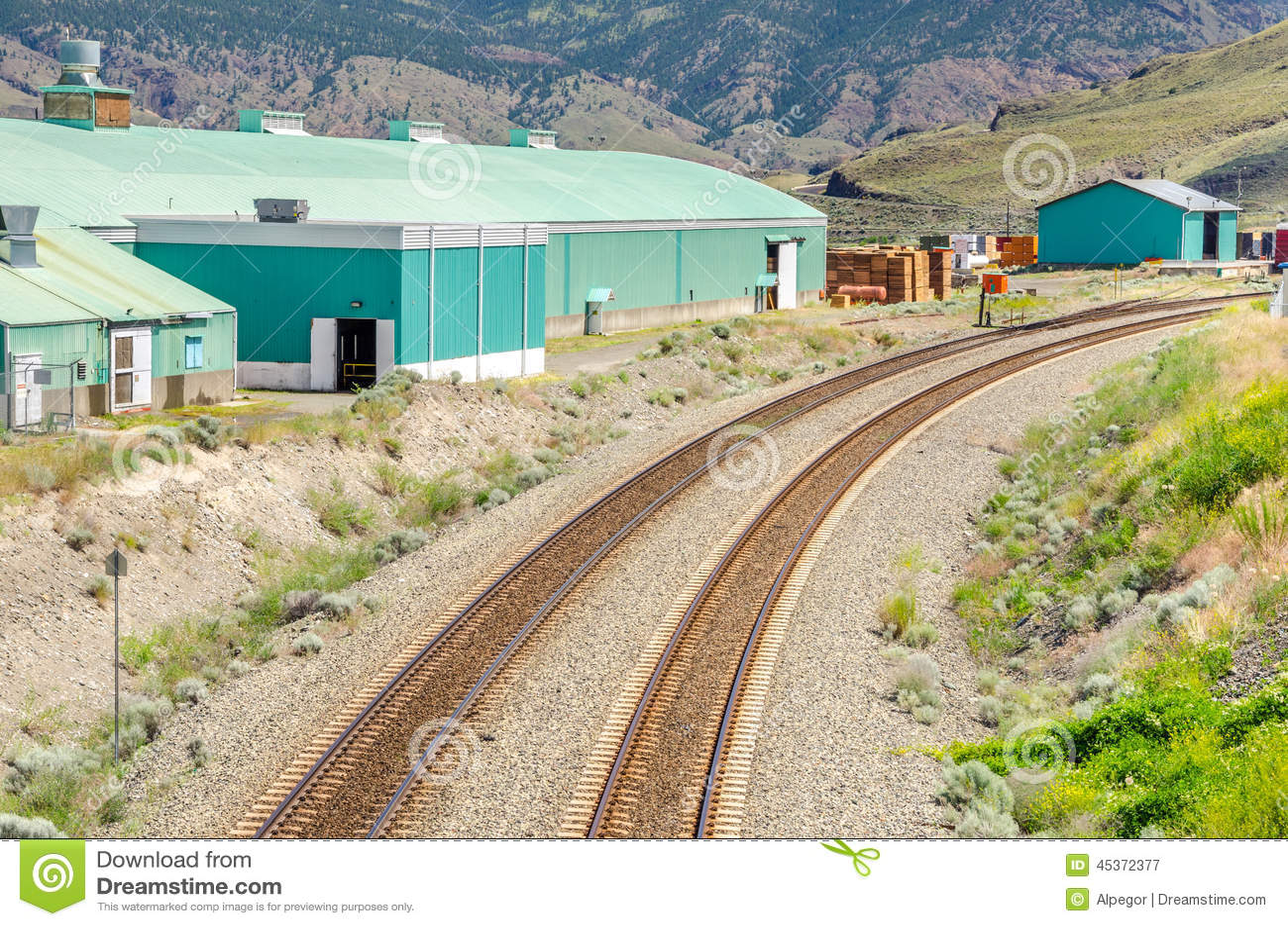 Courber des voies de chemin de fer