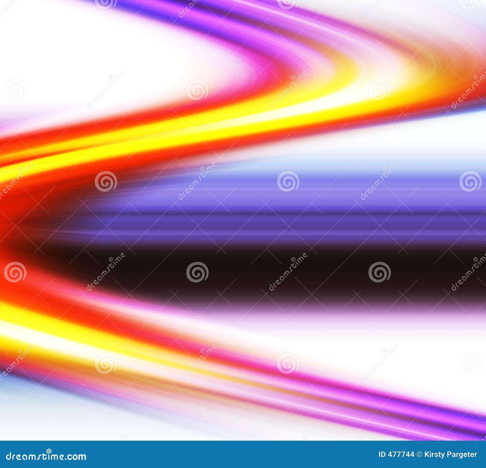 Courbes colorées