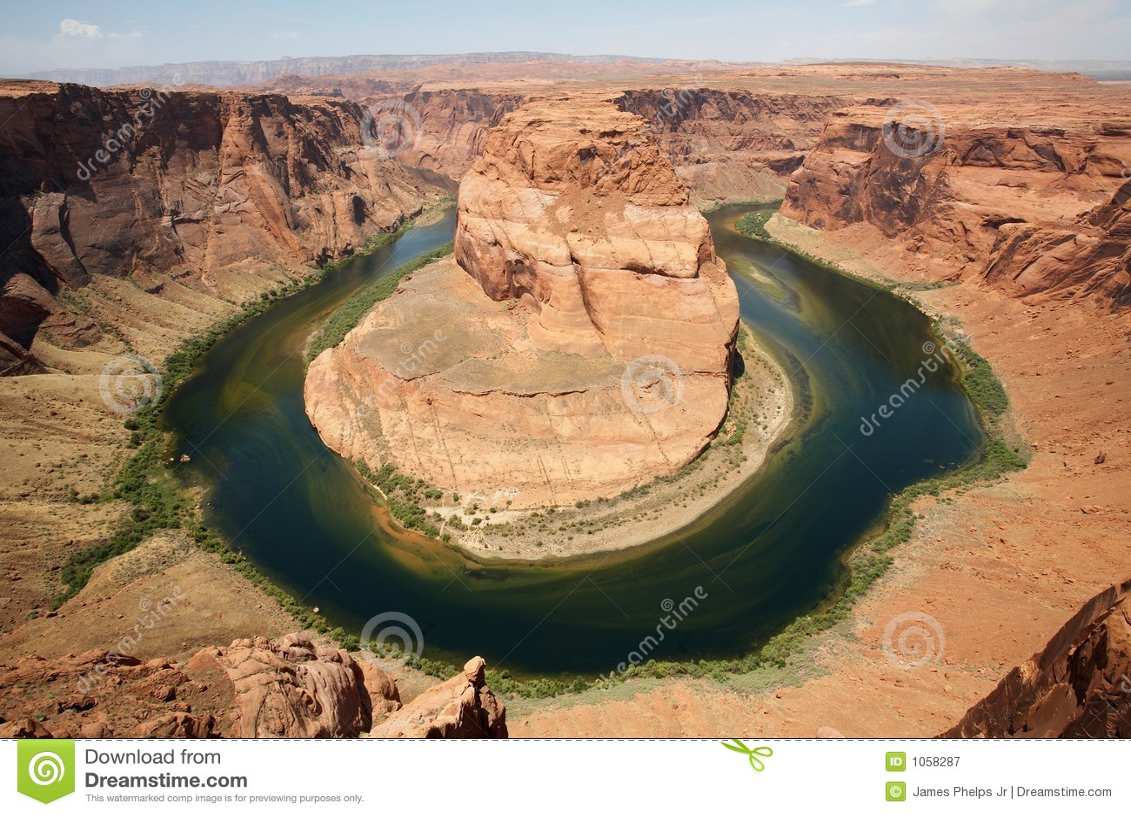 Courbure en fer à cheval Arizona