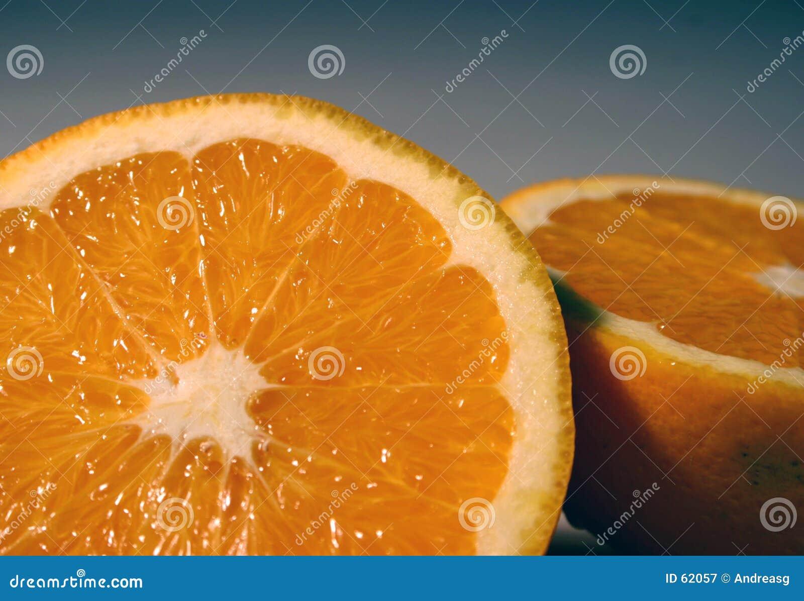 Download Courbure orange image stock. Image du sliced, nature, part - 62057