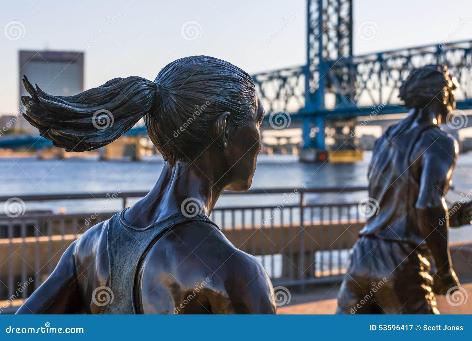 Coureurs en bronze