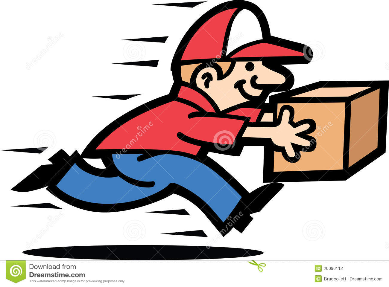 courier man stock vector image of speed  happy  running pants clip art black white plants clip art images