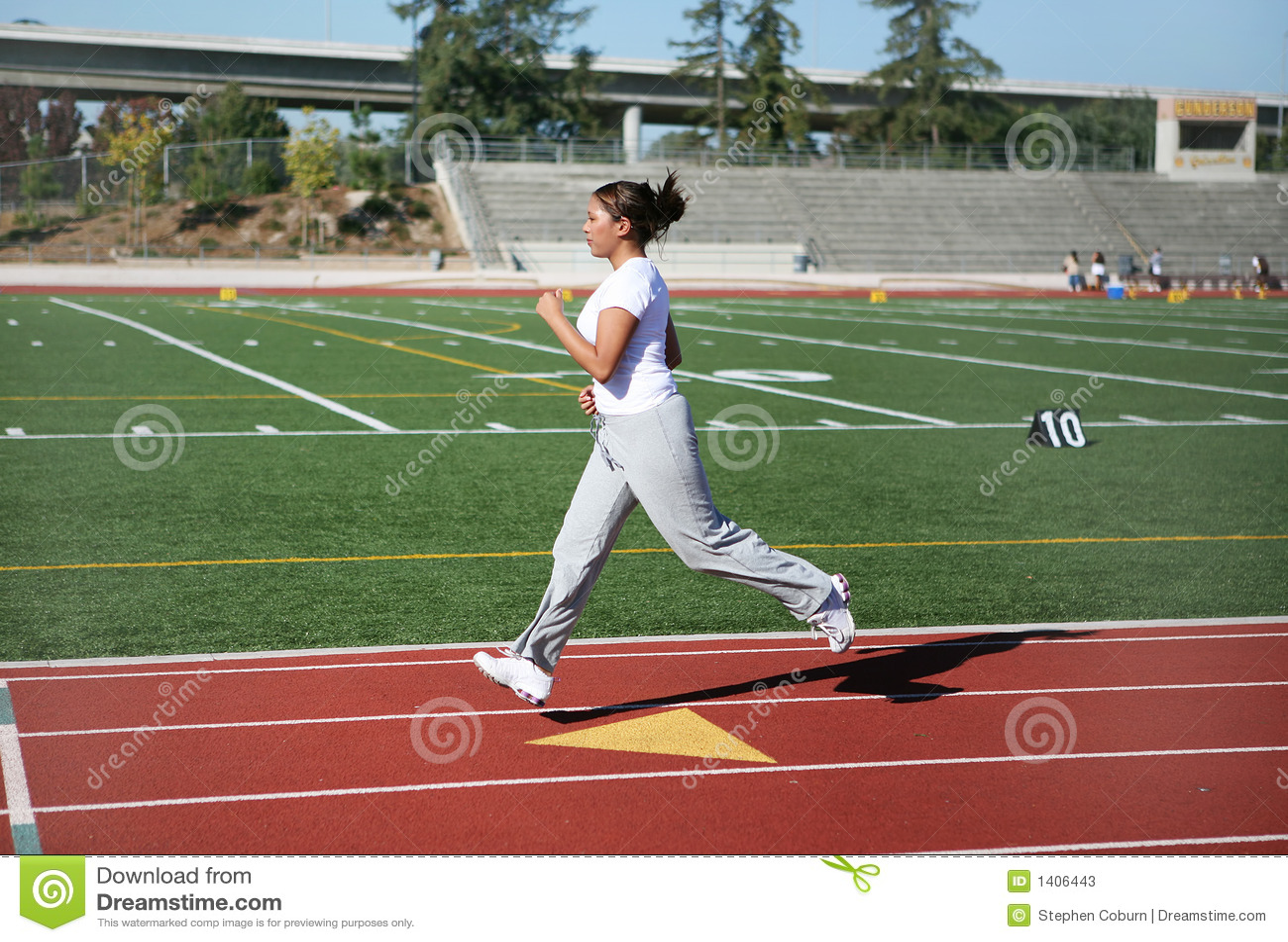 Courir de femme