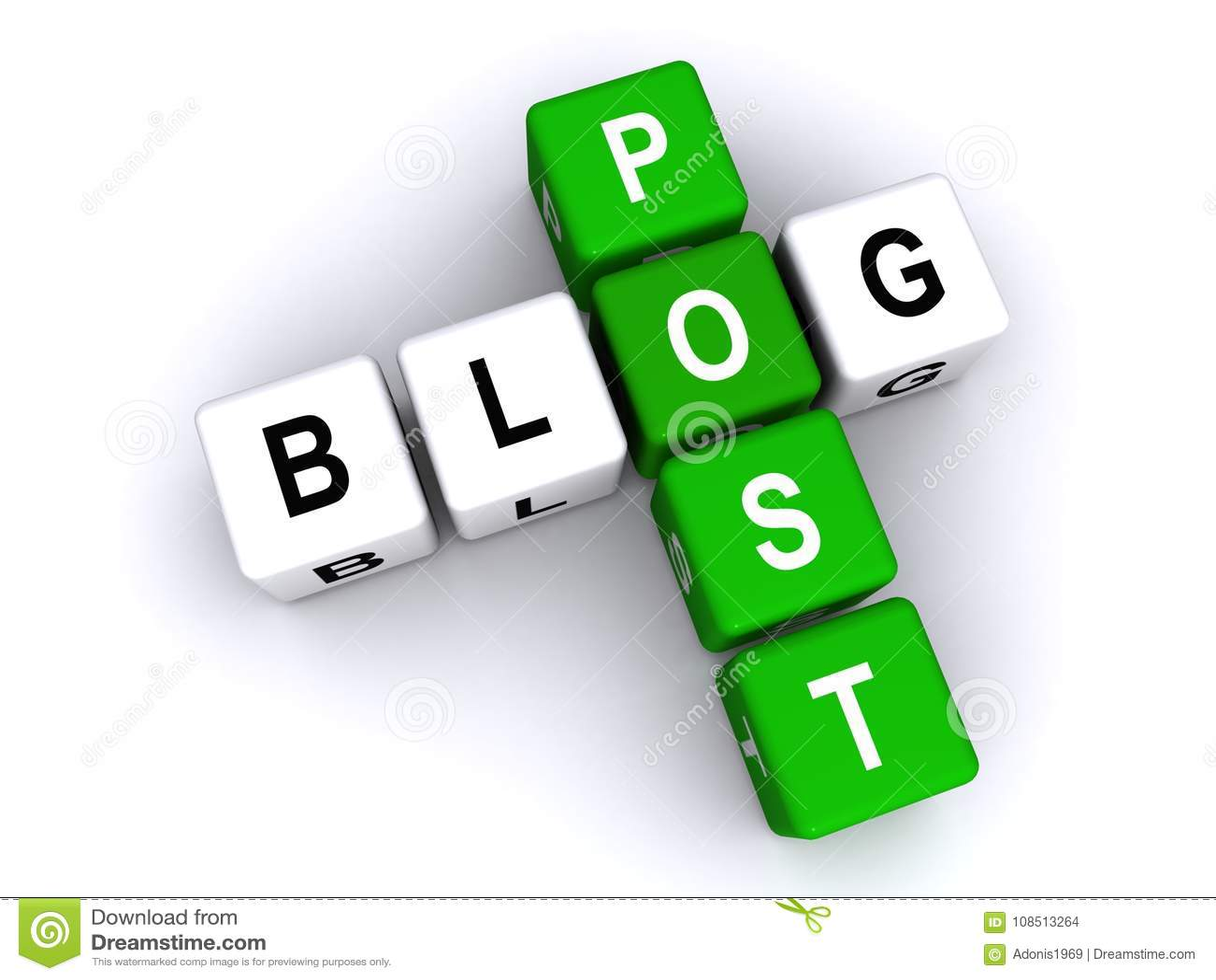 Courrier de blog