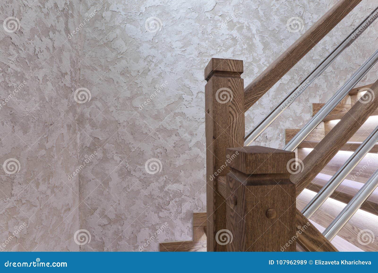 Courriers D\'escalier De Chêne Et Couverture Décorative De Mur ...
