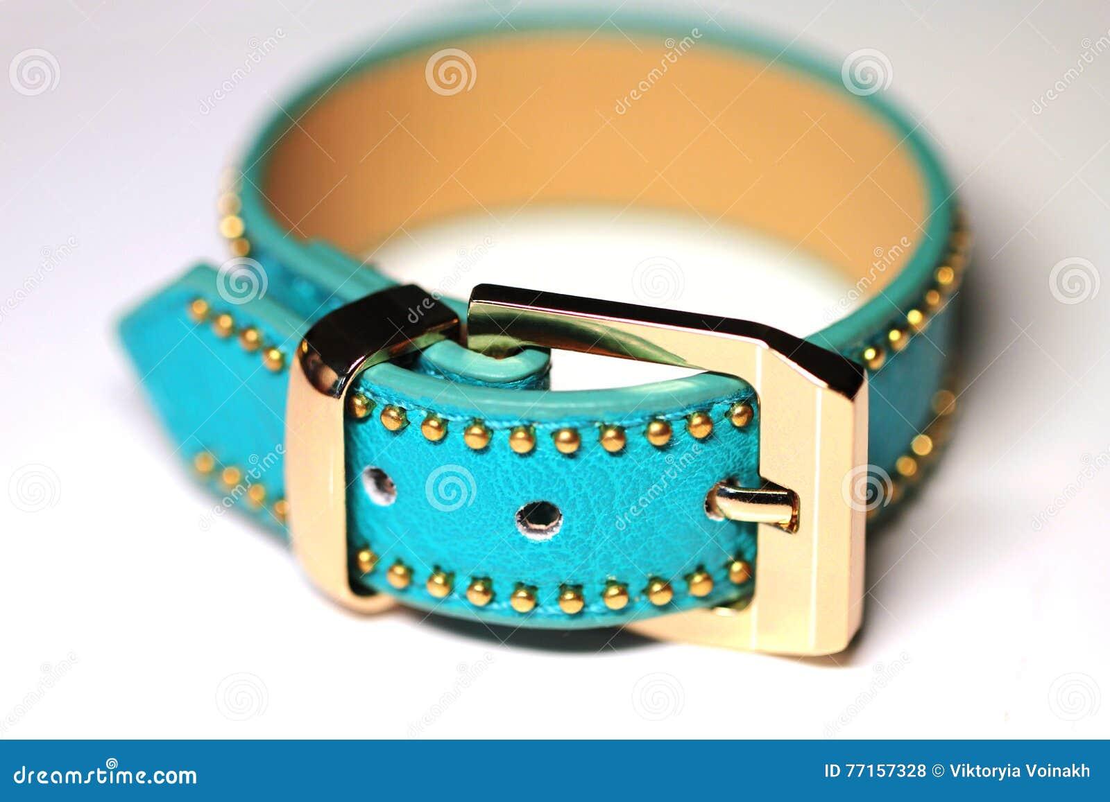 Courroie de bracelet d isolement sur le blanc