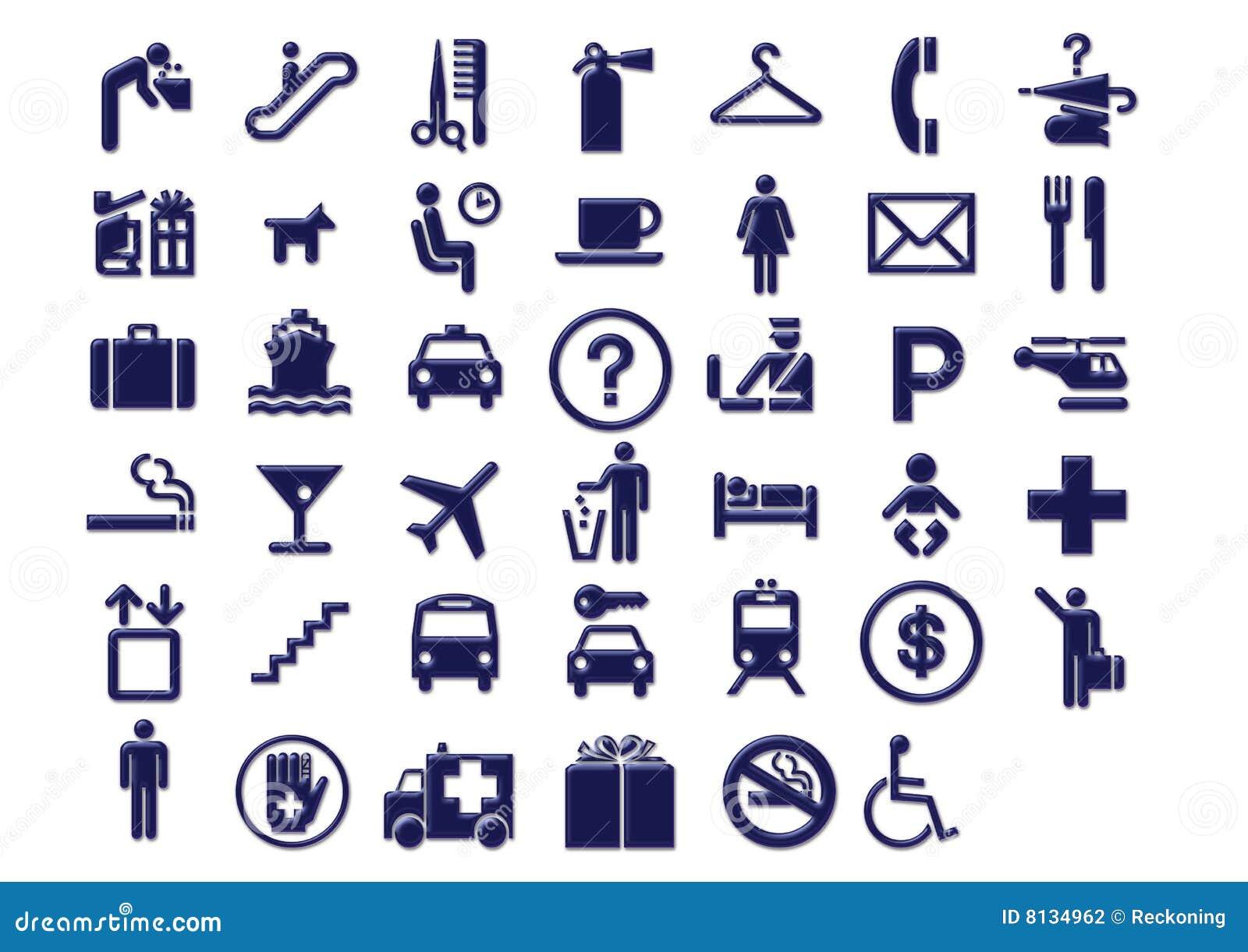 Course de signage de graphismes d aéroport