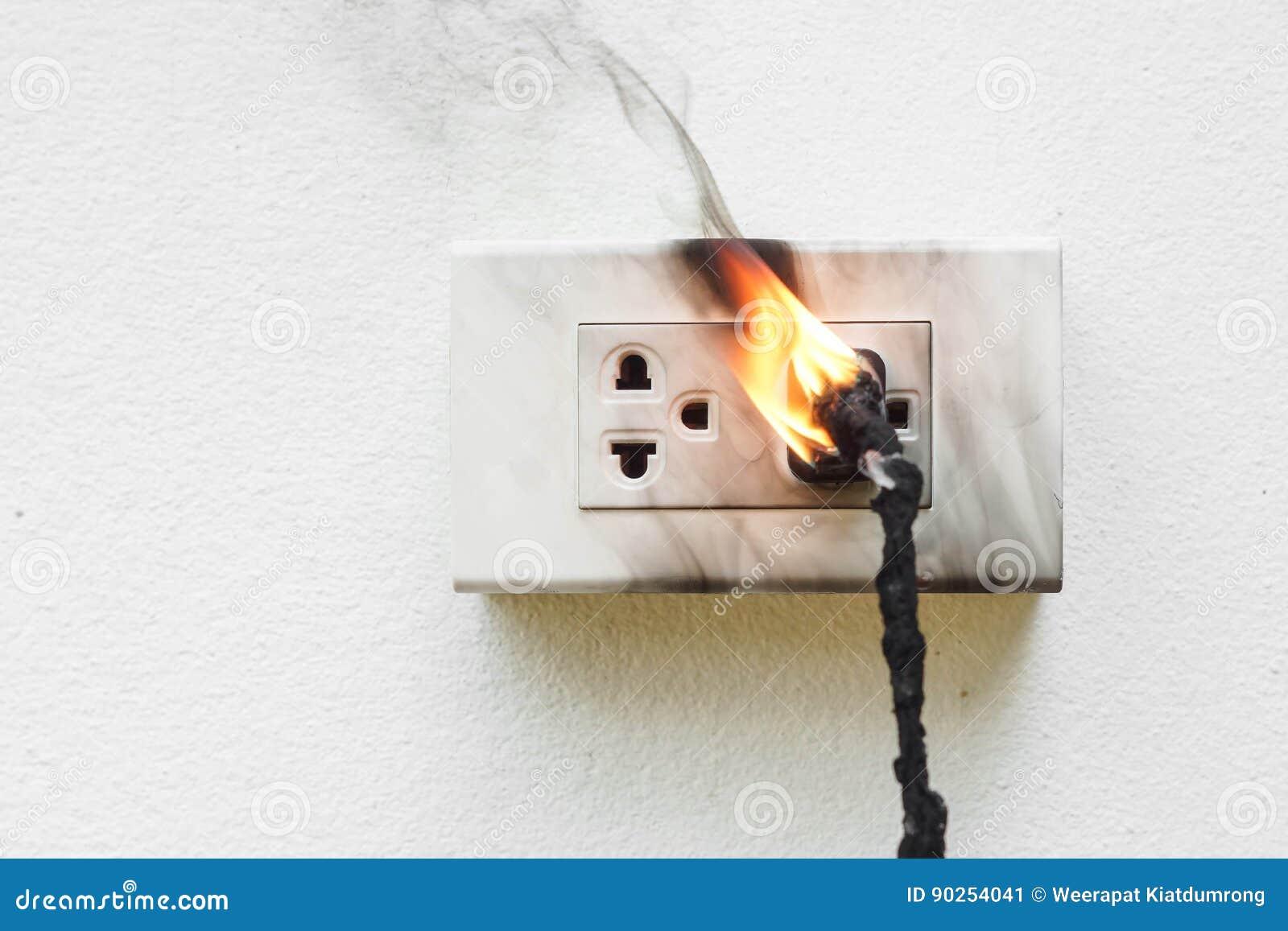 Court-circuit de l électricité