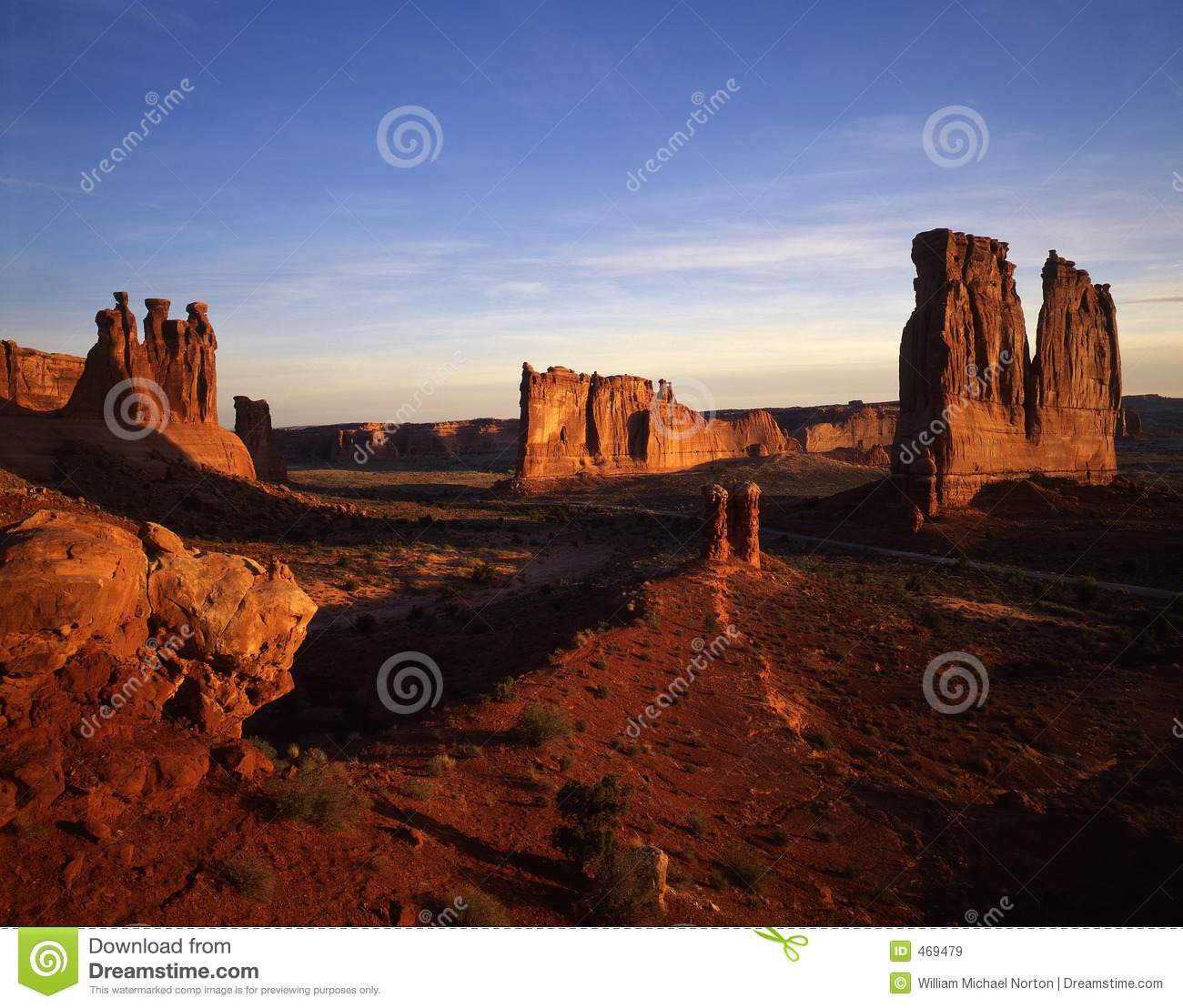 Download Court House Wash stock image. Image of canyon, national - 469479