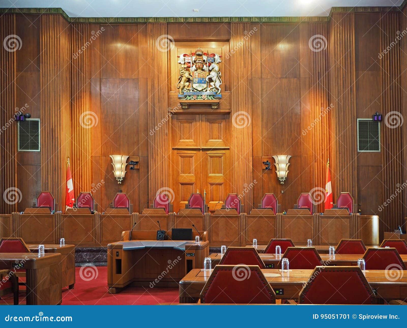 Art Et Decoration Juin 2017 court suprême du canada photo éditorial. image du cour