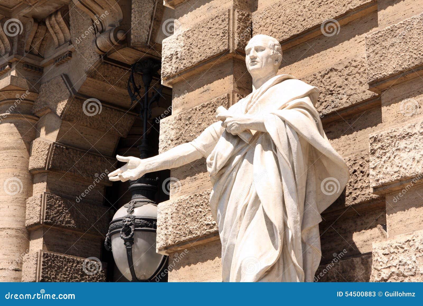 Court suprême Rome Italie de sculpture