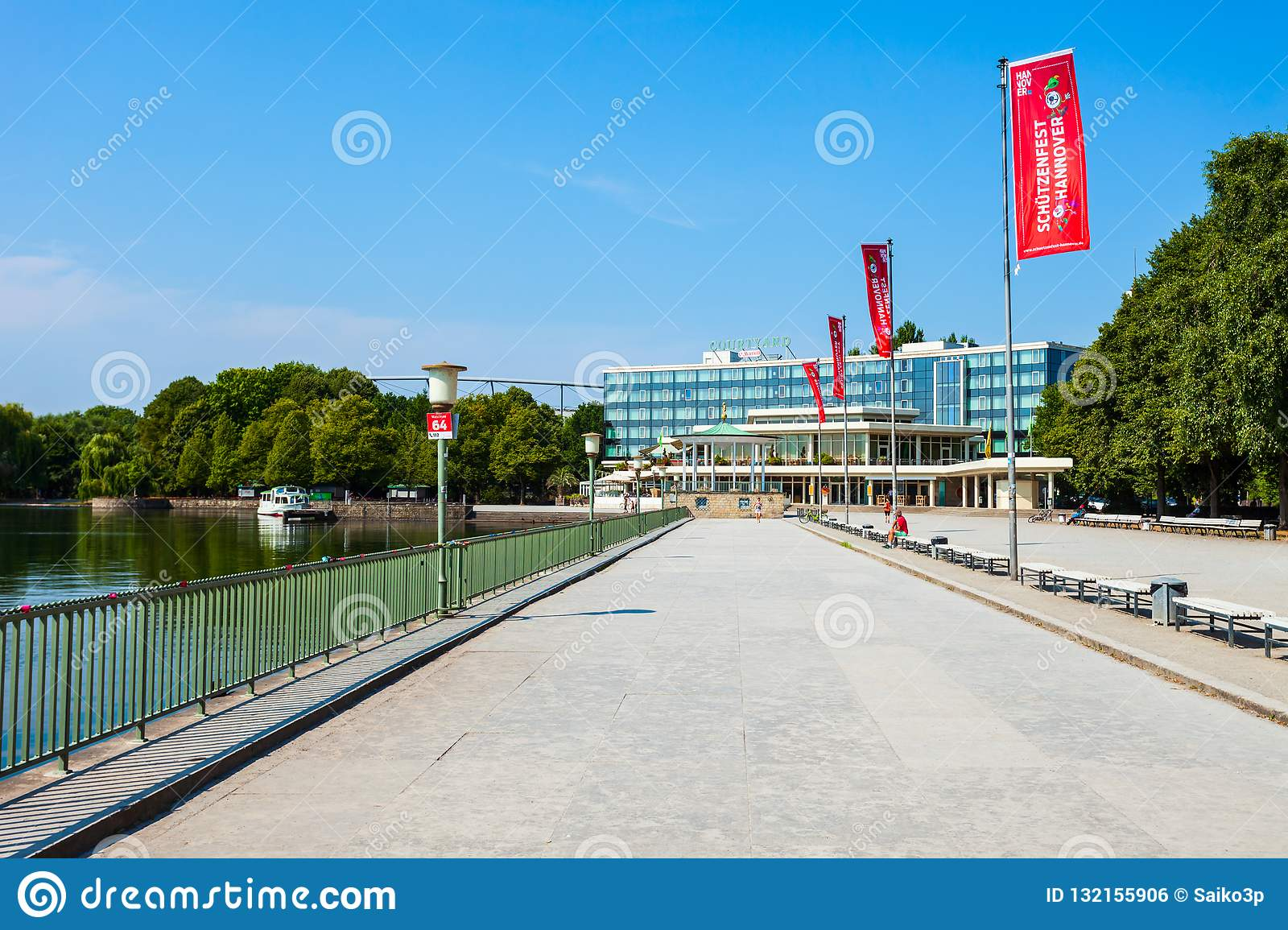 Courtyard Marriott Hannover Maschsee Hotel Editorial Photo ...