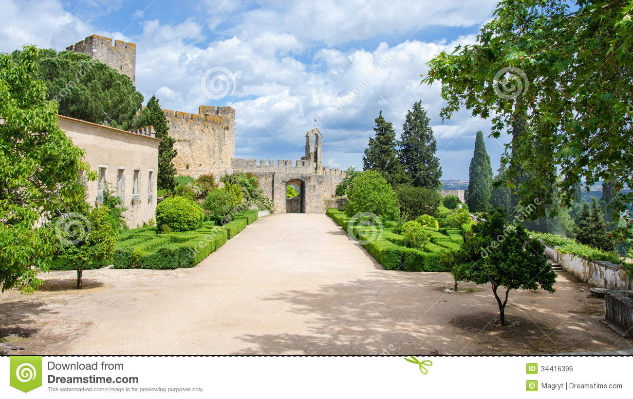 Courtyard of the medieval castle royalty free stock image for Castle house plans with courtyard