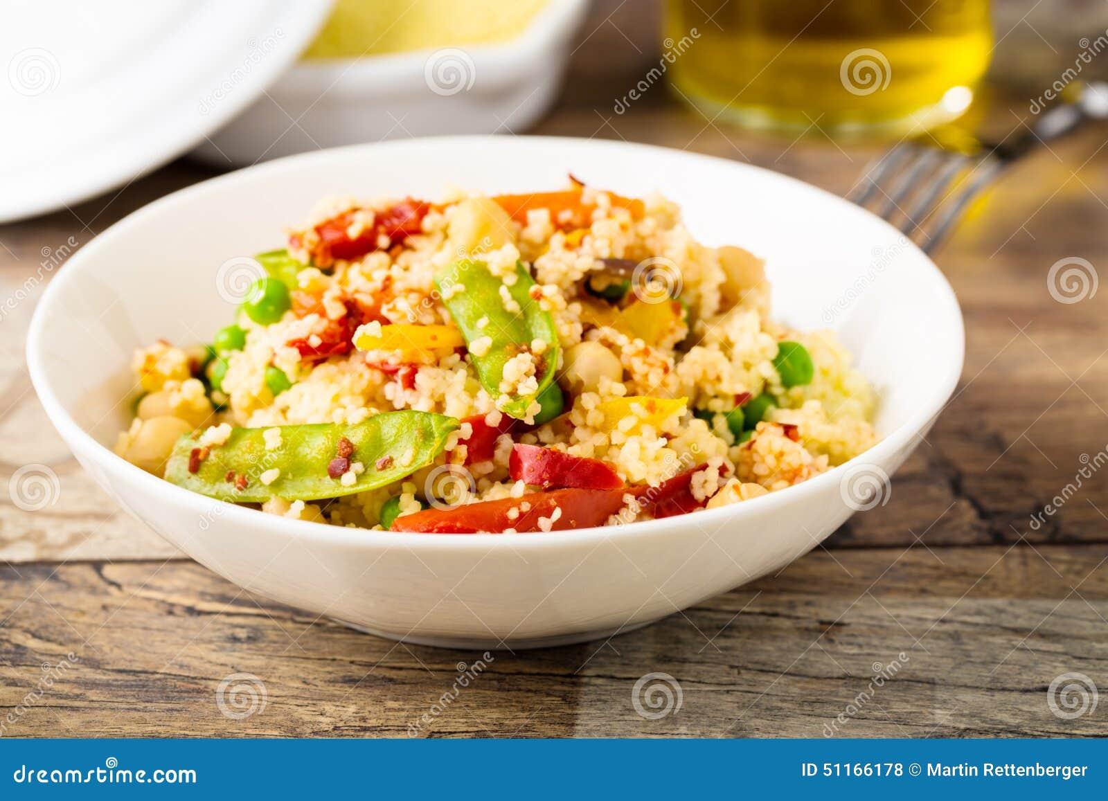 Cous cous con veggies