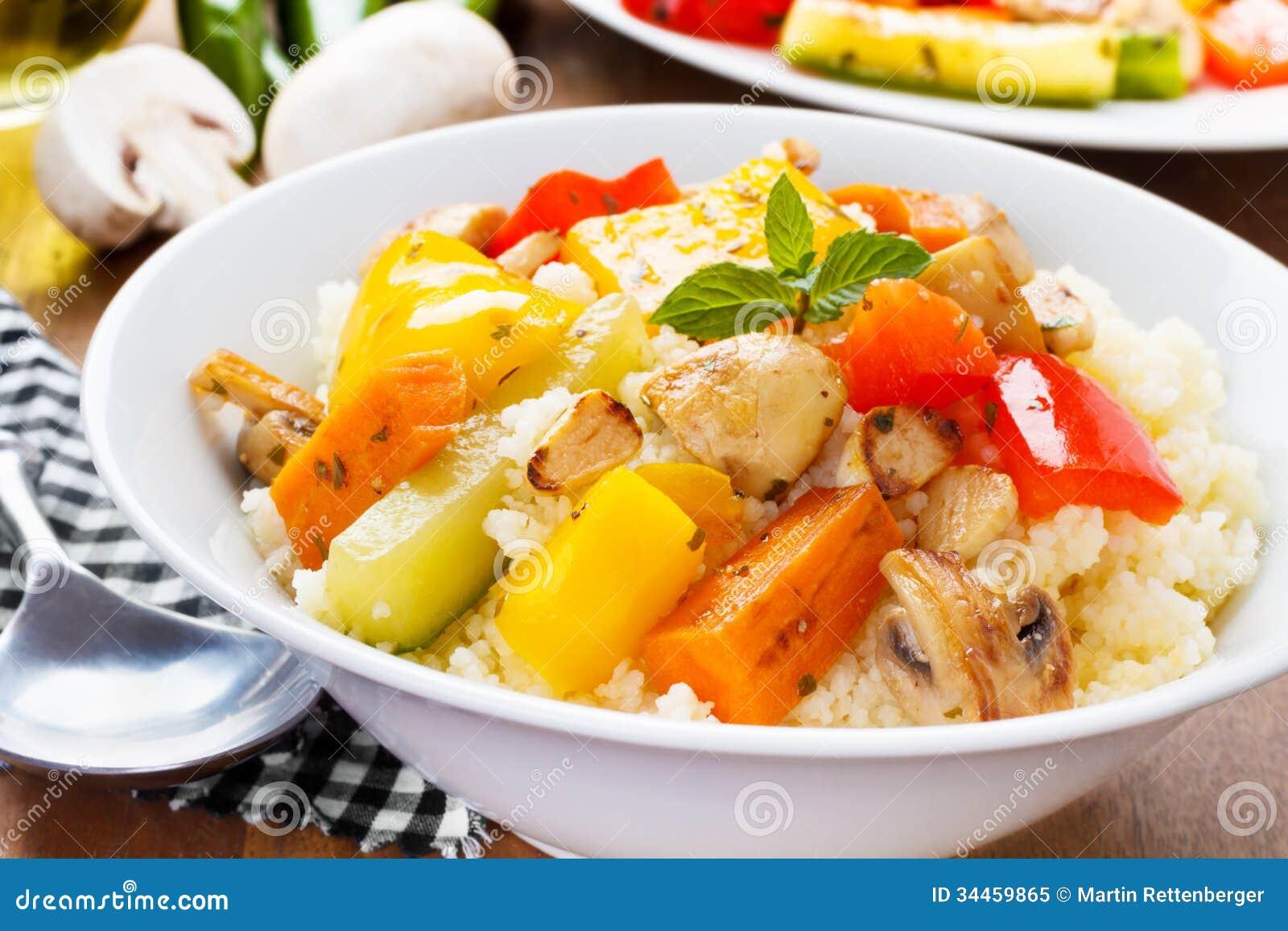 Cous som är cous med veggies