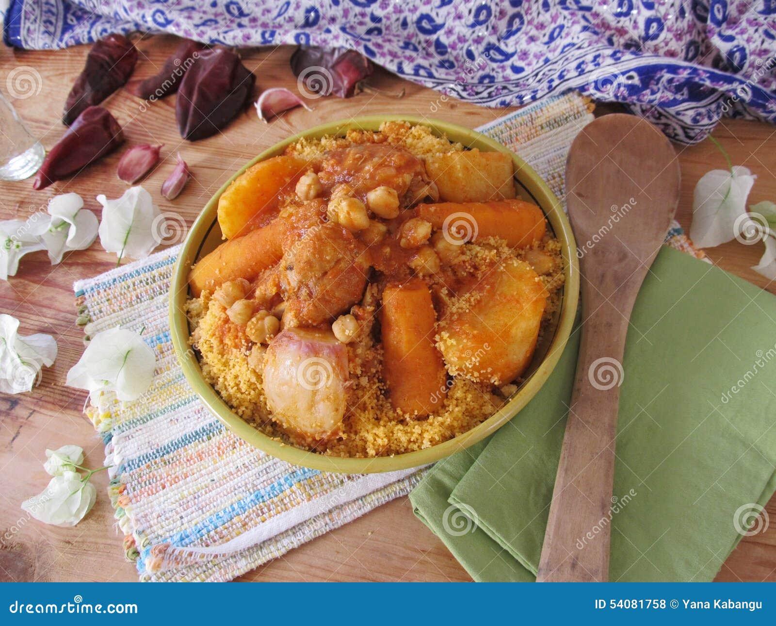Couscous avec le poulet
