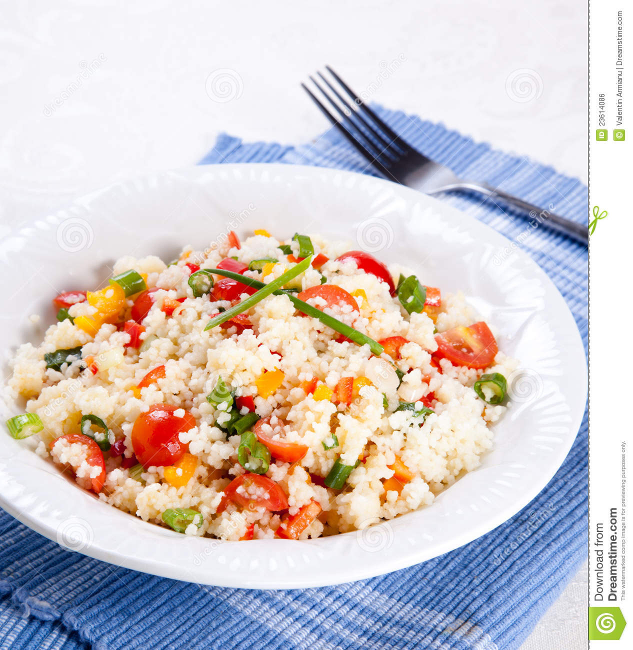Couscous Salad Royalty Free Stock Image - Image: 23614086
