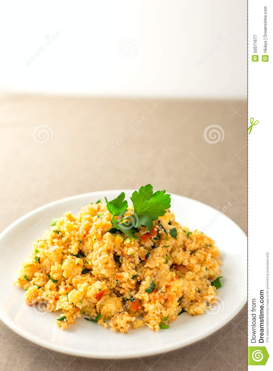 Couscous stock photo image 50571677 for Side dish for fish