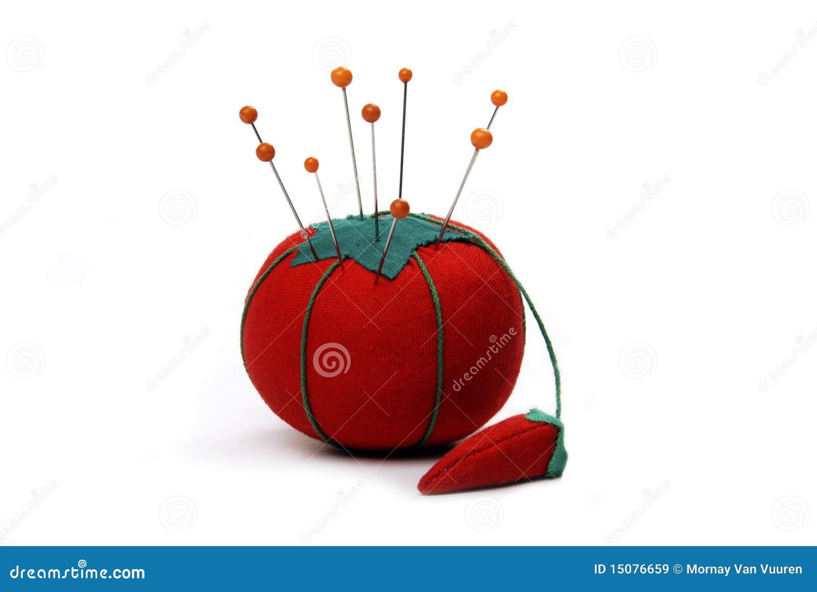 Coussin de broche de tomate