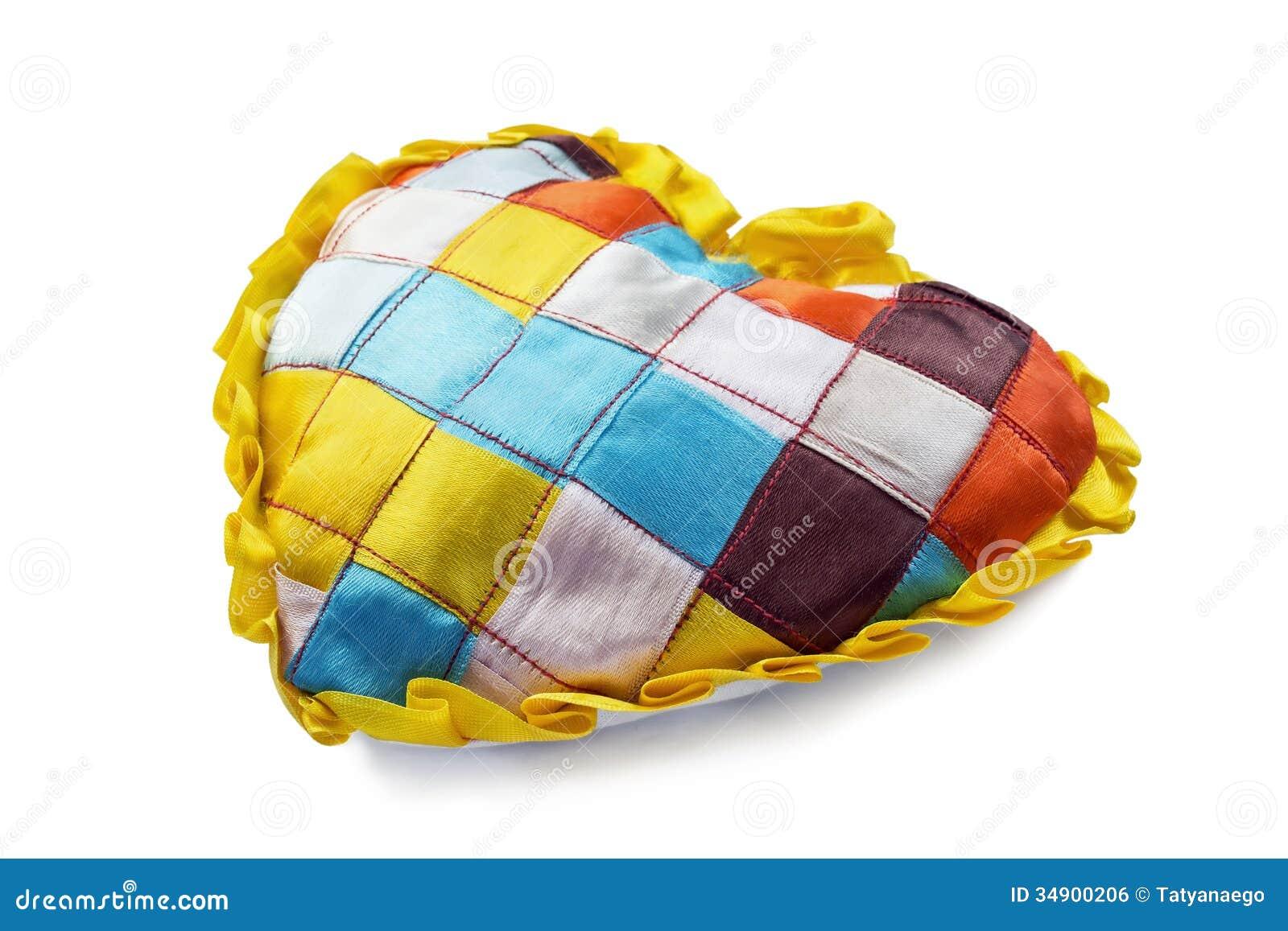 Coussin de patchwork