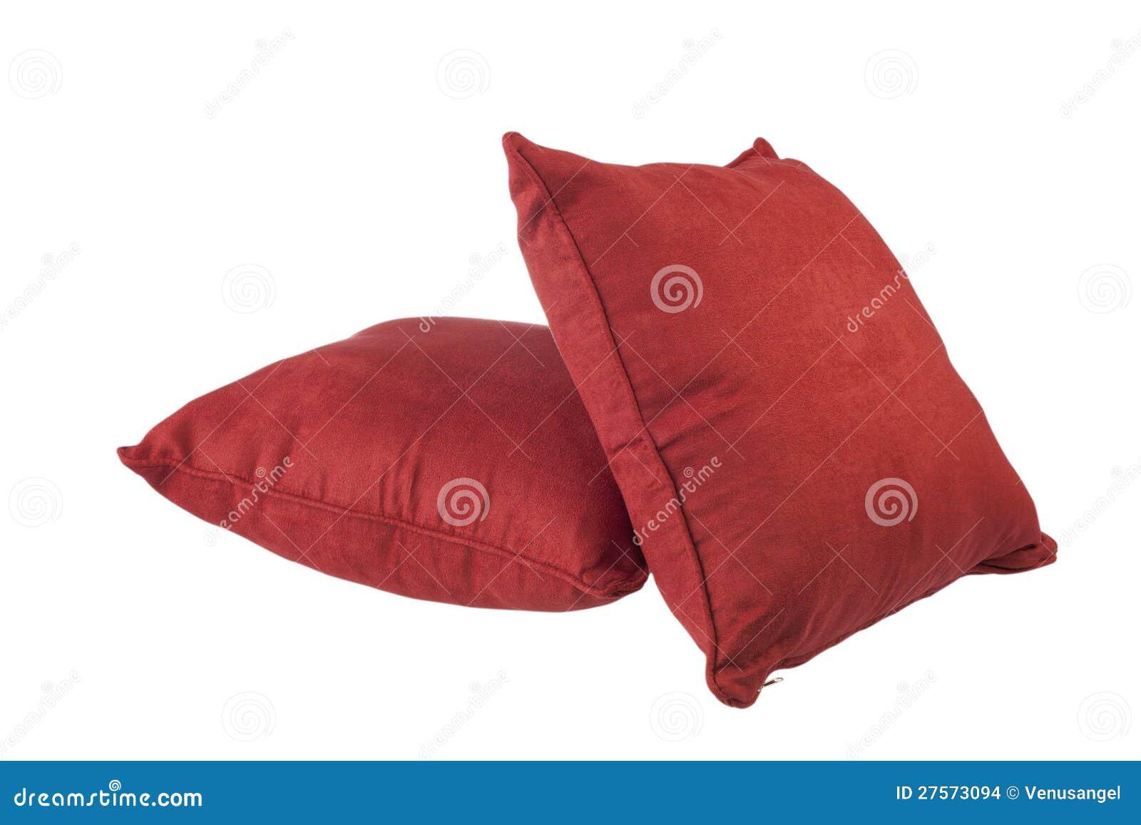 coussins rouges images stock image 27573094. Black Bedroom Furniture Sets. Home Design Ideas