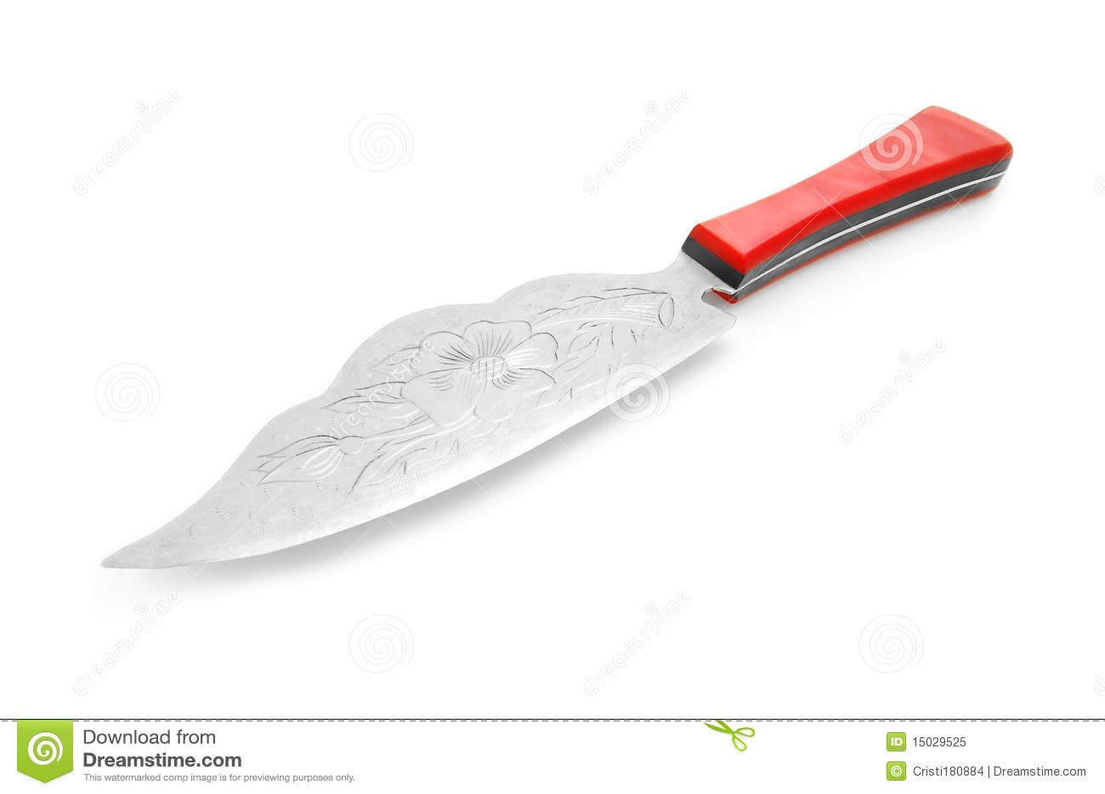 couteau de cuisine fantaisie