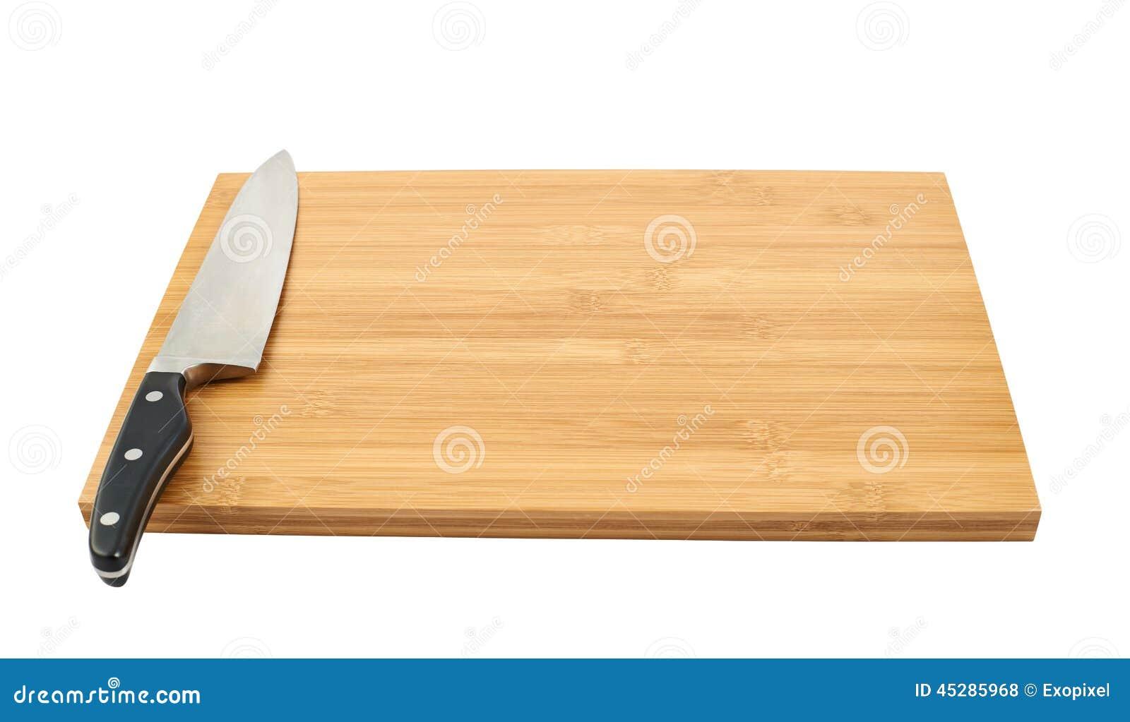 couteau de cuisine et planche a decouper