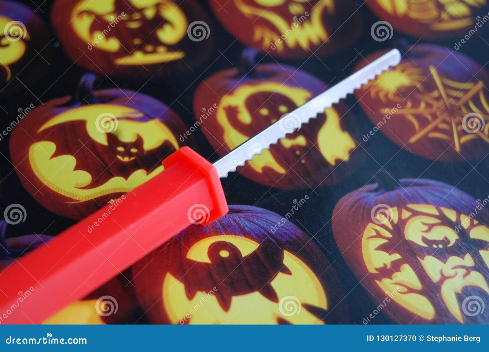 Couteau de découpage de potiron