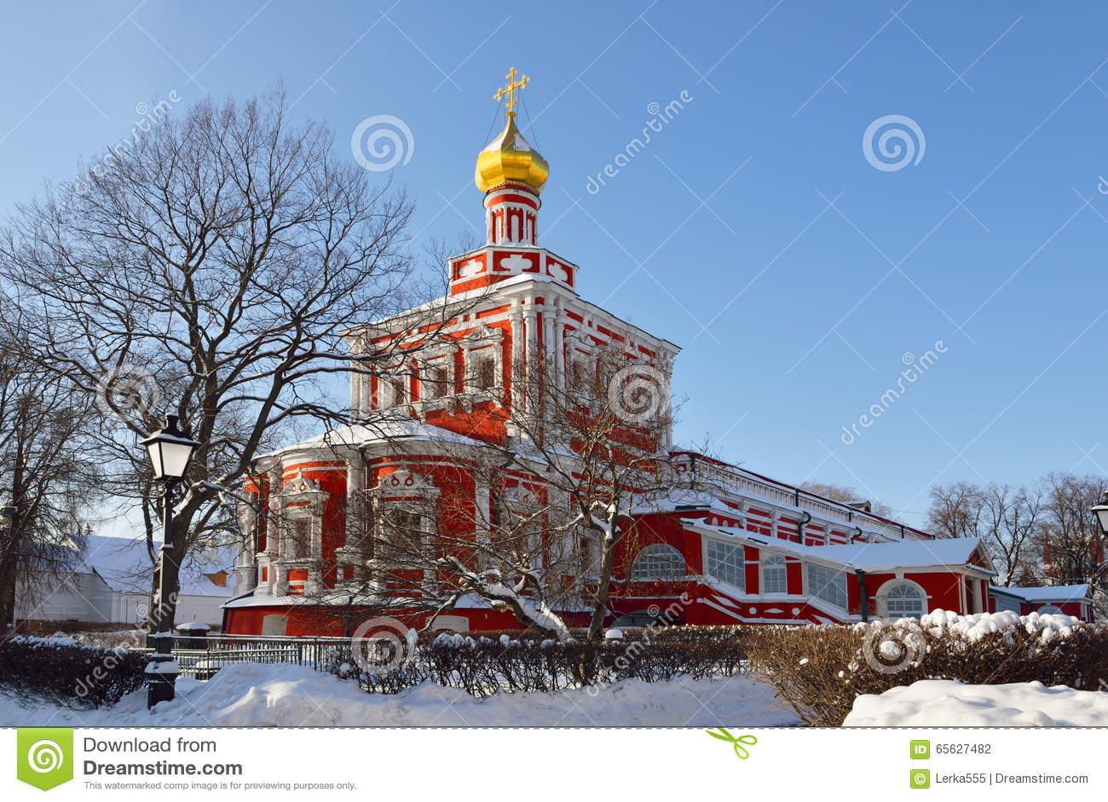 Couvent de Novodevichy également connu sous le nom de Bogoroditse Smolensky Monastery