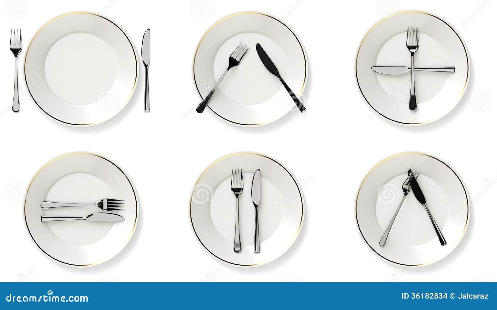 Couverts de protocole images stock image 36182834 - Disposition des couverts en fin de repas ...