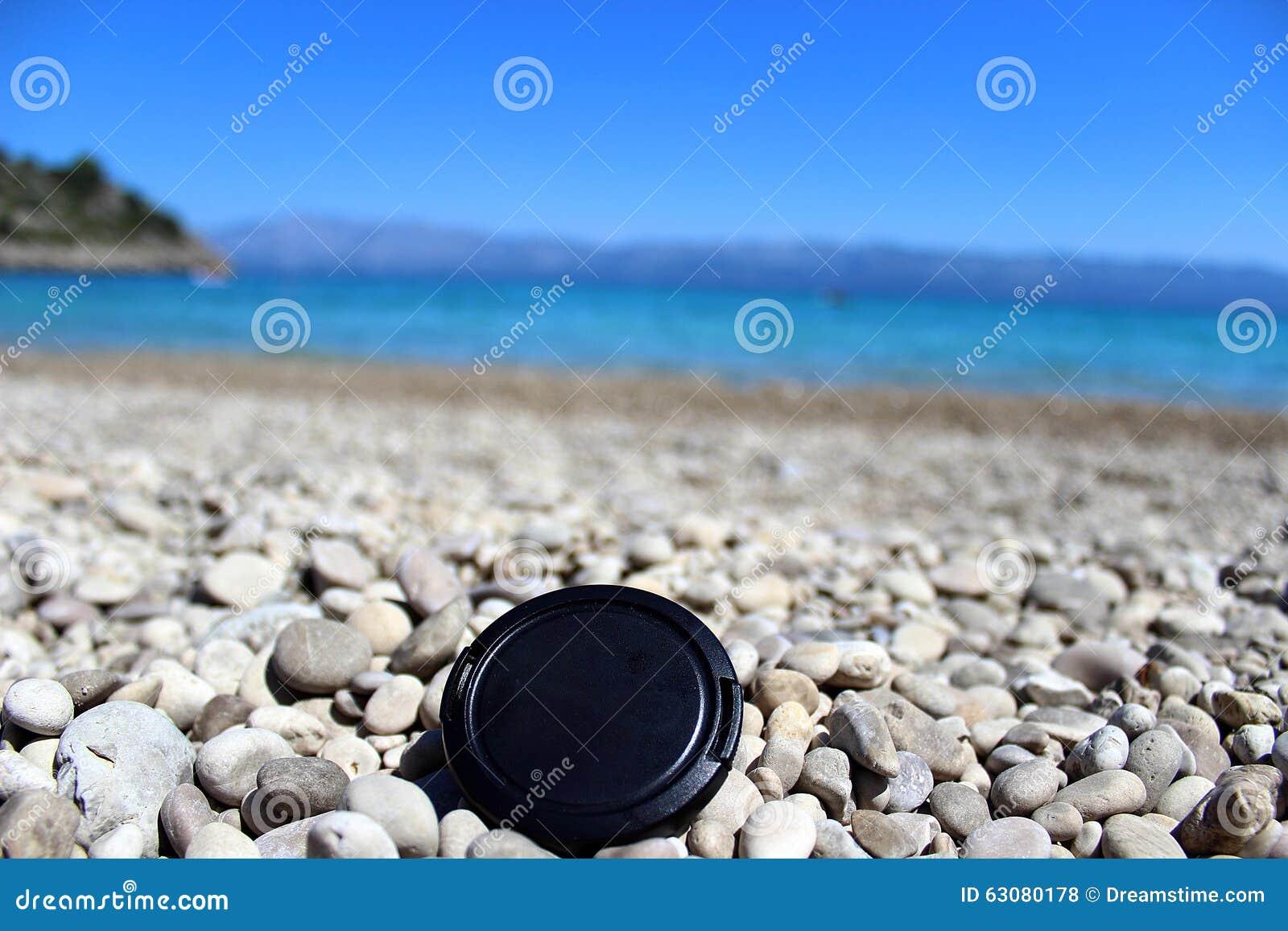 Download Couverture sur la plage photo stock. Image du gravoir - 63080178