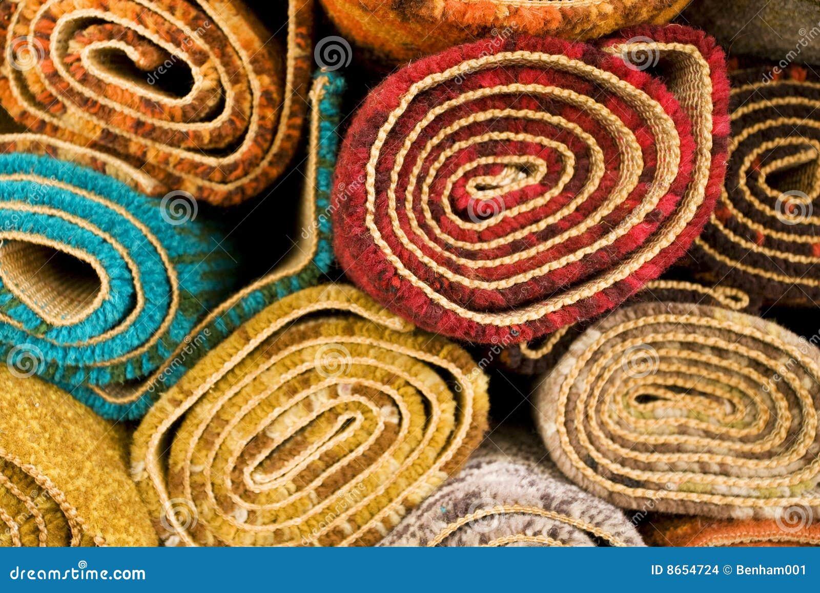 Couvertures colorées