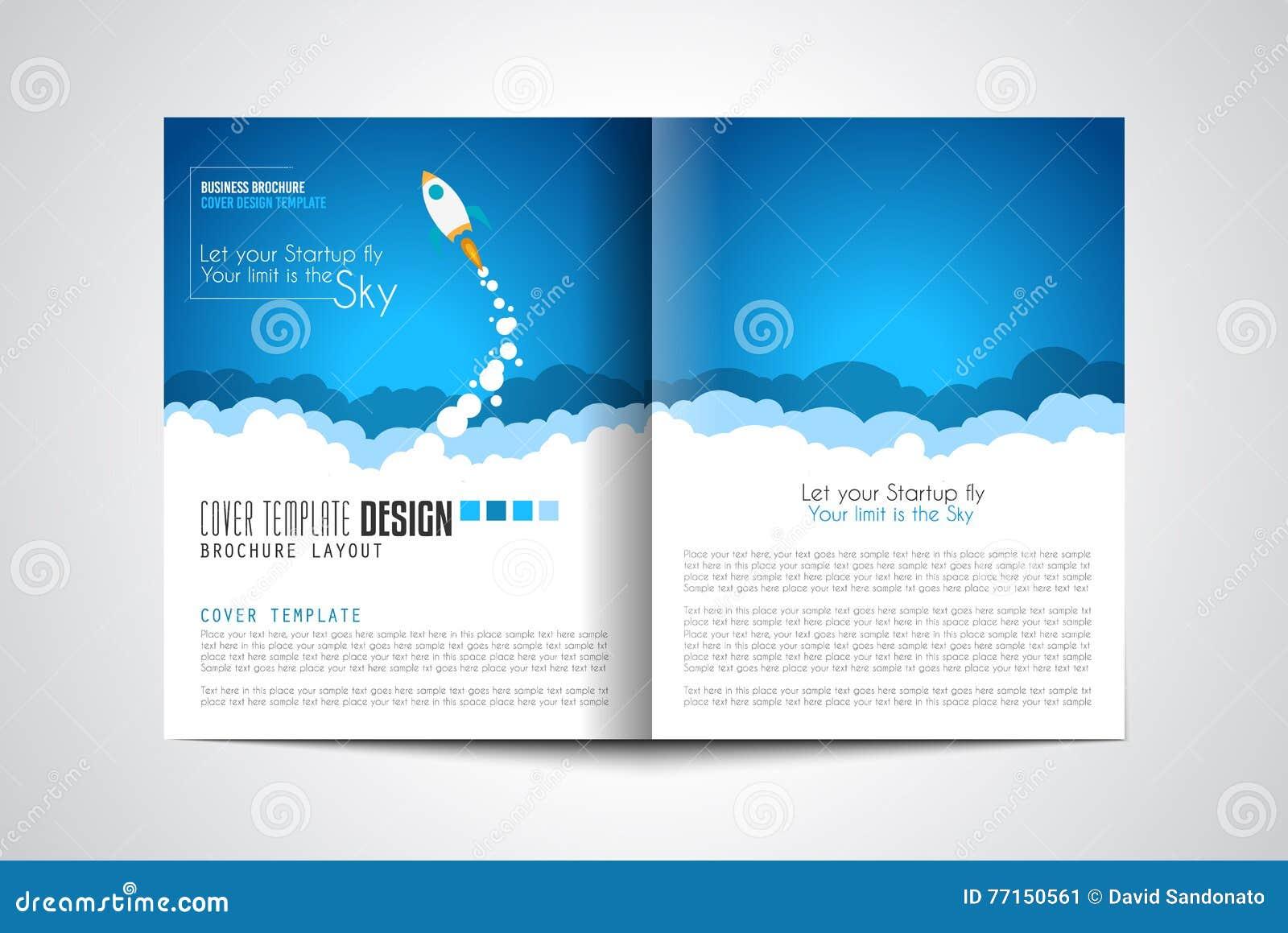 Couvertures de page Web de démarrage d atterrissage ou de conception d entreprise