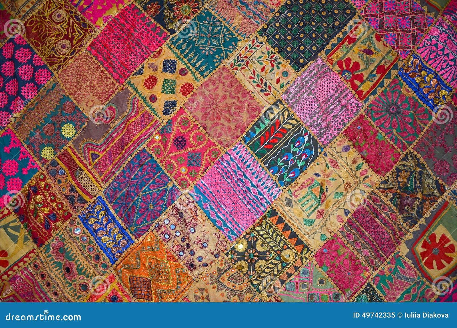 achat couvre lit patchwork Couvre lit De Patchwork Dans Le Style Oriental Image stock   Image  achat couvre lit patchwork