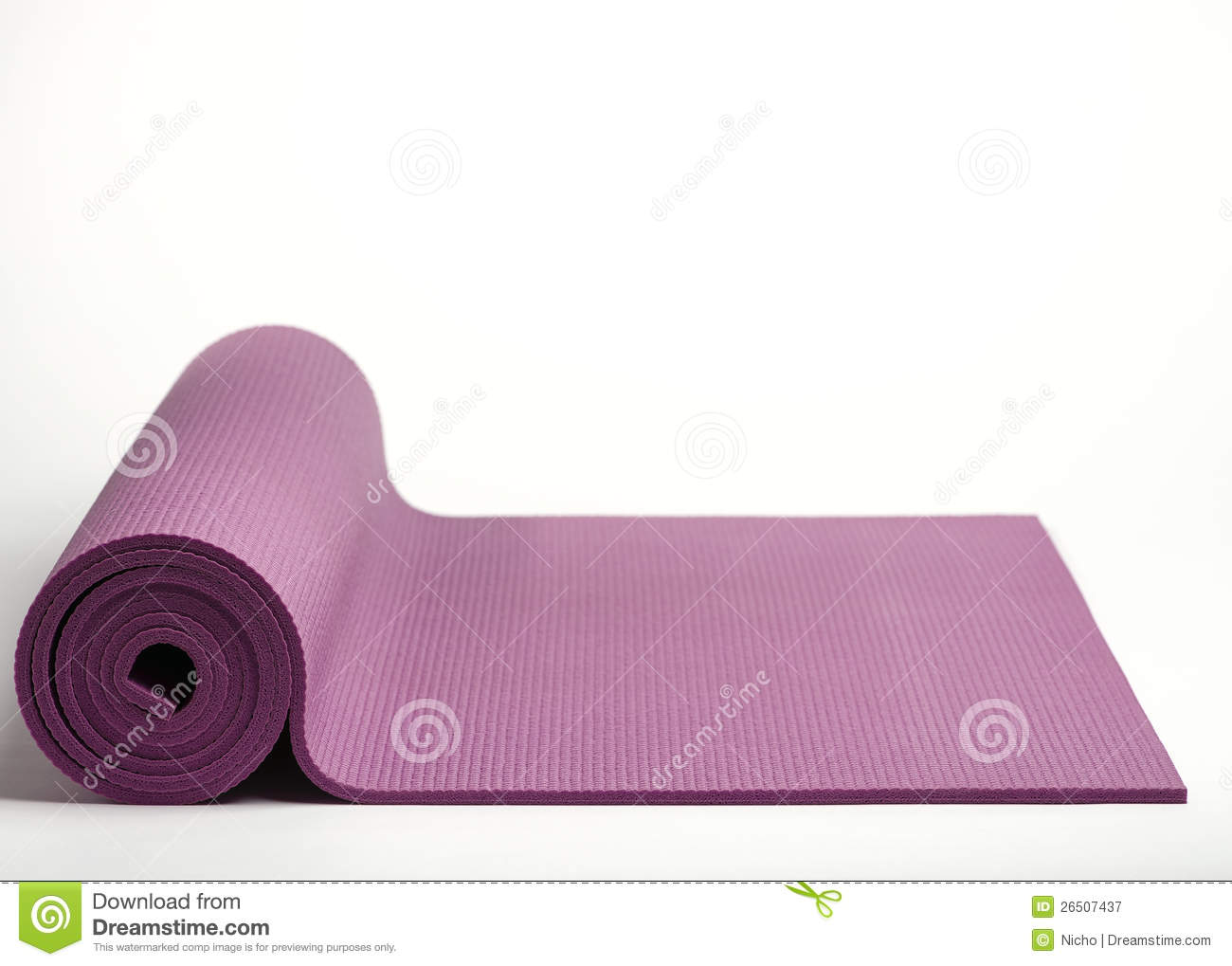 Couvre-tapis d exercice.