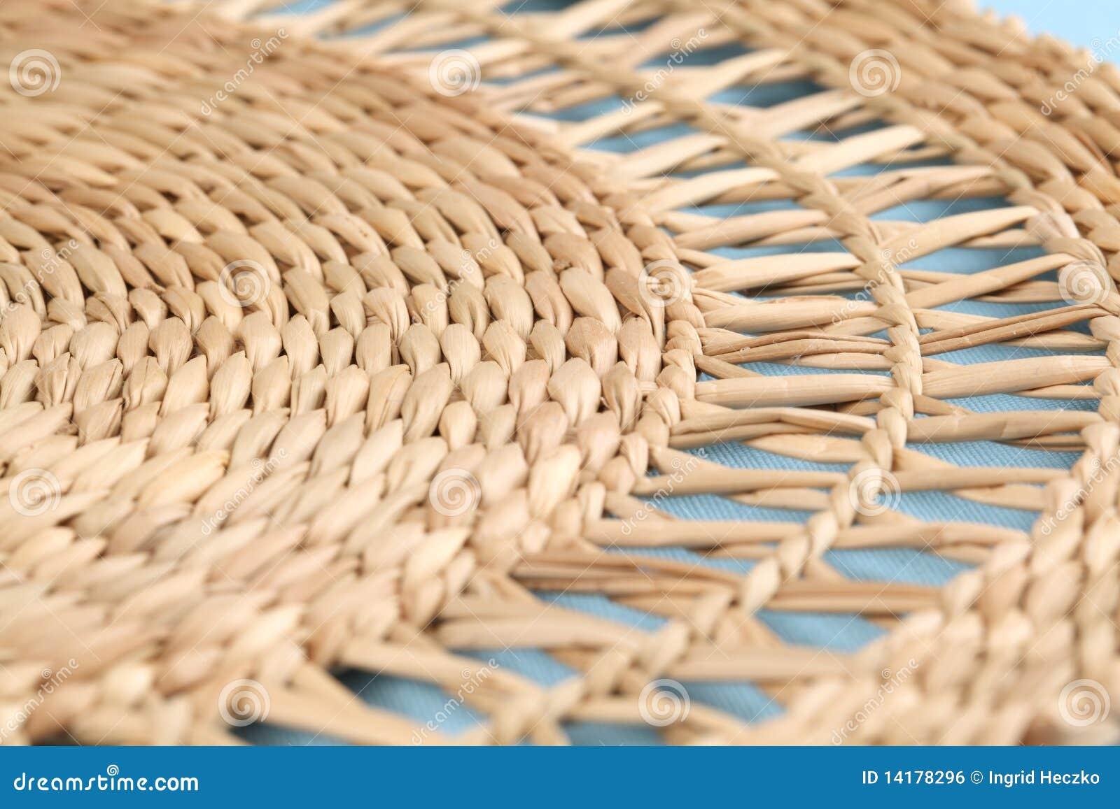 Couvre tapis de paille image libre de droits image 14178296 Tapis rond tresse