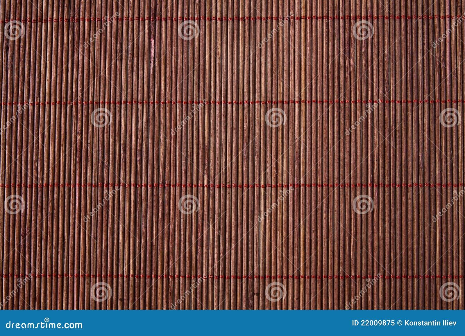 couvre tapis en bambou photo libre de droits image 22009875. Black Bedroom Furniture Sets. Home Design Ideas