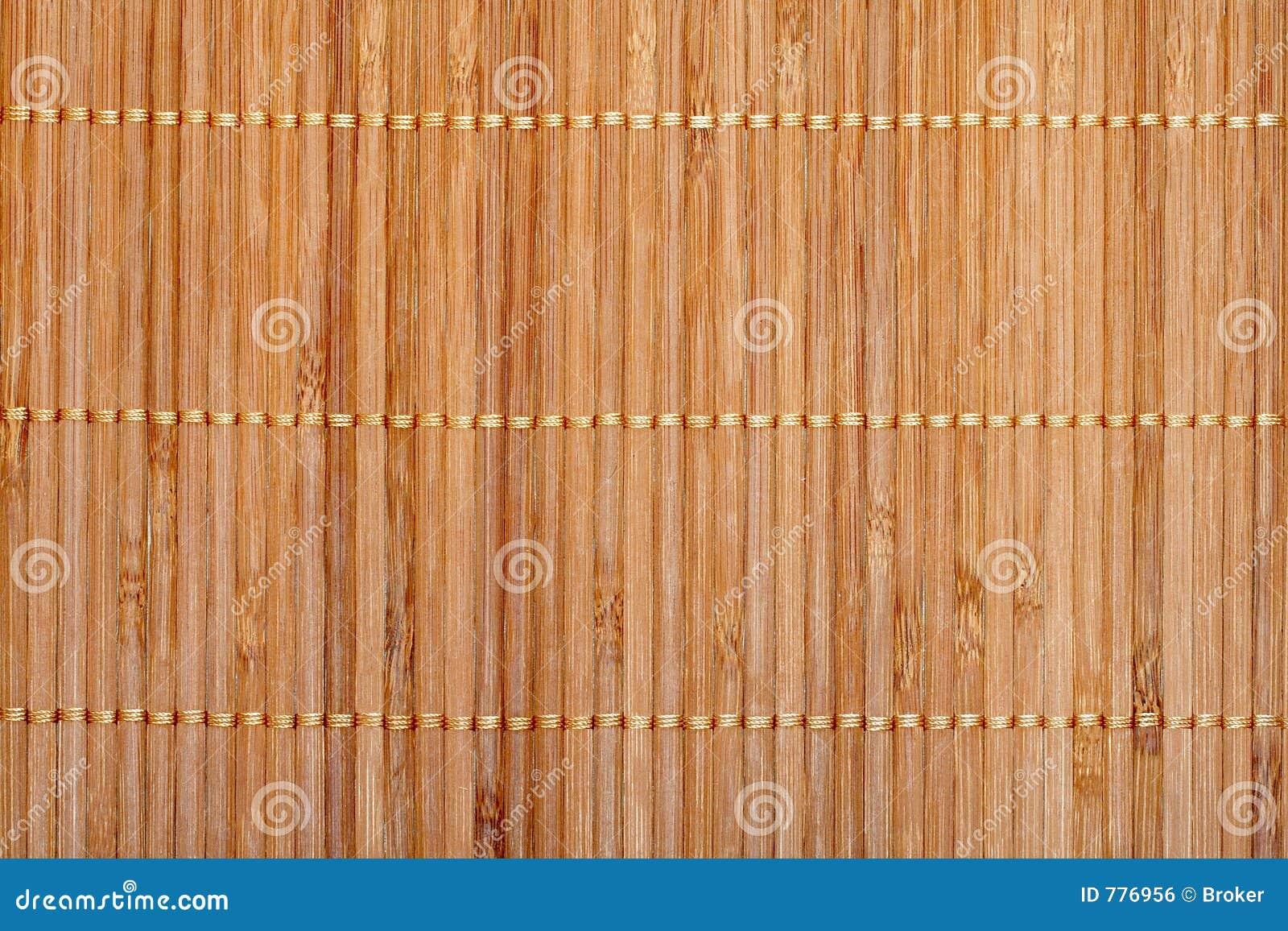 couvre tapis en bambou photo stock image du couvre tage. Black Bedroom Furniture Sets. Home Design Ideas