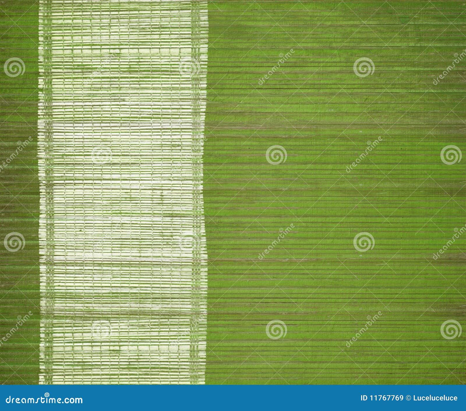 couvre tapis en bambou avec le bar de carte blanc grunge image stock image du abstrait cadre. Black Bedroom Furniture Sets. Home Design Ideas