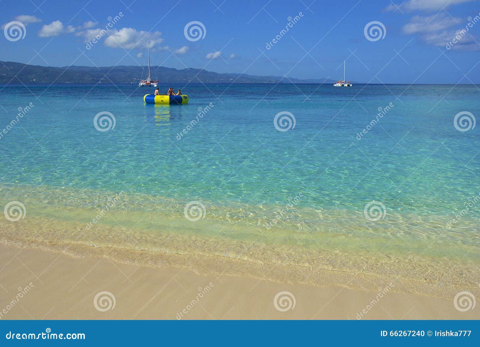 Cove Beach de docteur Jamaïque, des Caraïbes