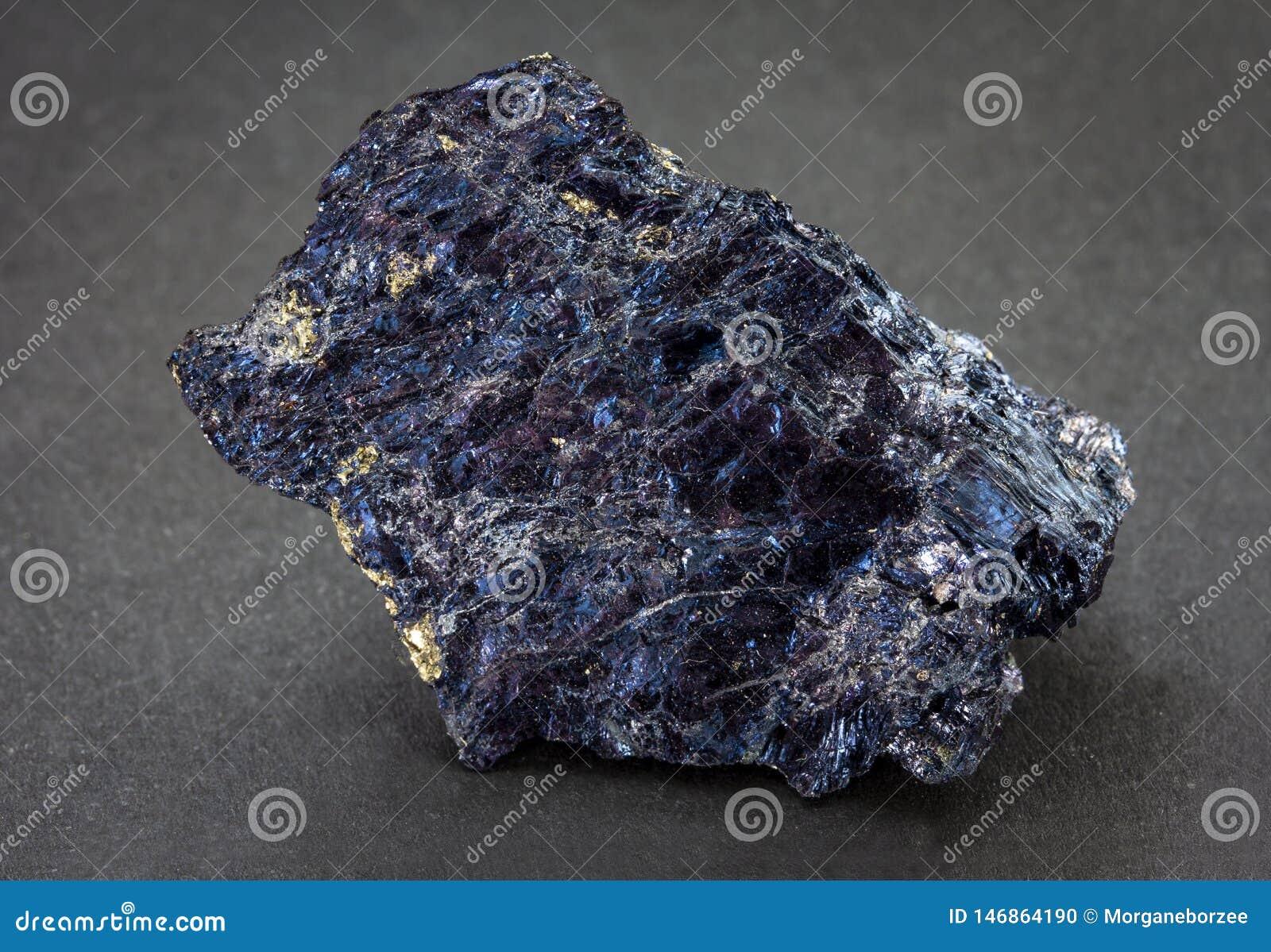 Covellite Also Known As Covelline Is A Rare Copper Sulfide