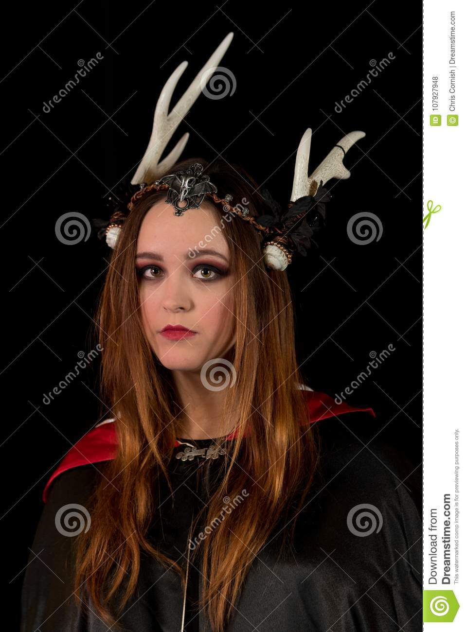 The Coven Sisters stock photo  Image of dark, necklace - 107927948